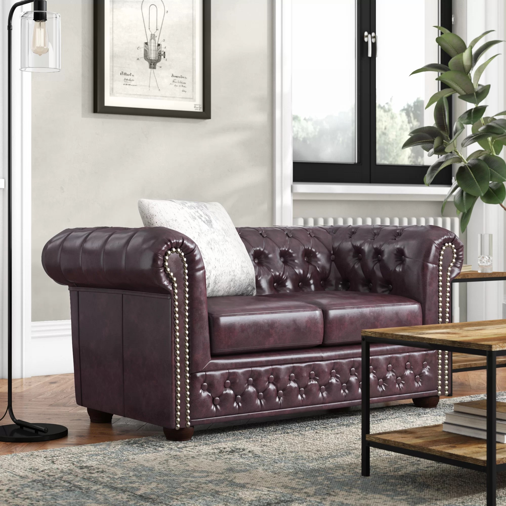 Chesterfield Sofa Online Uk Abtao 2 Seater Chesterfield Sofa