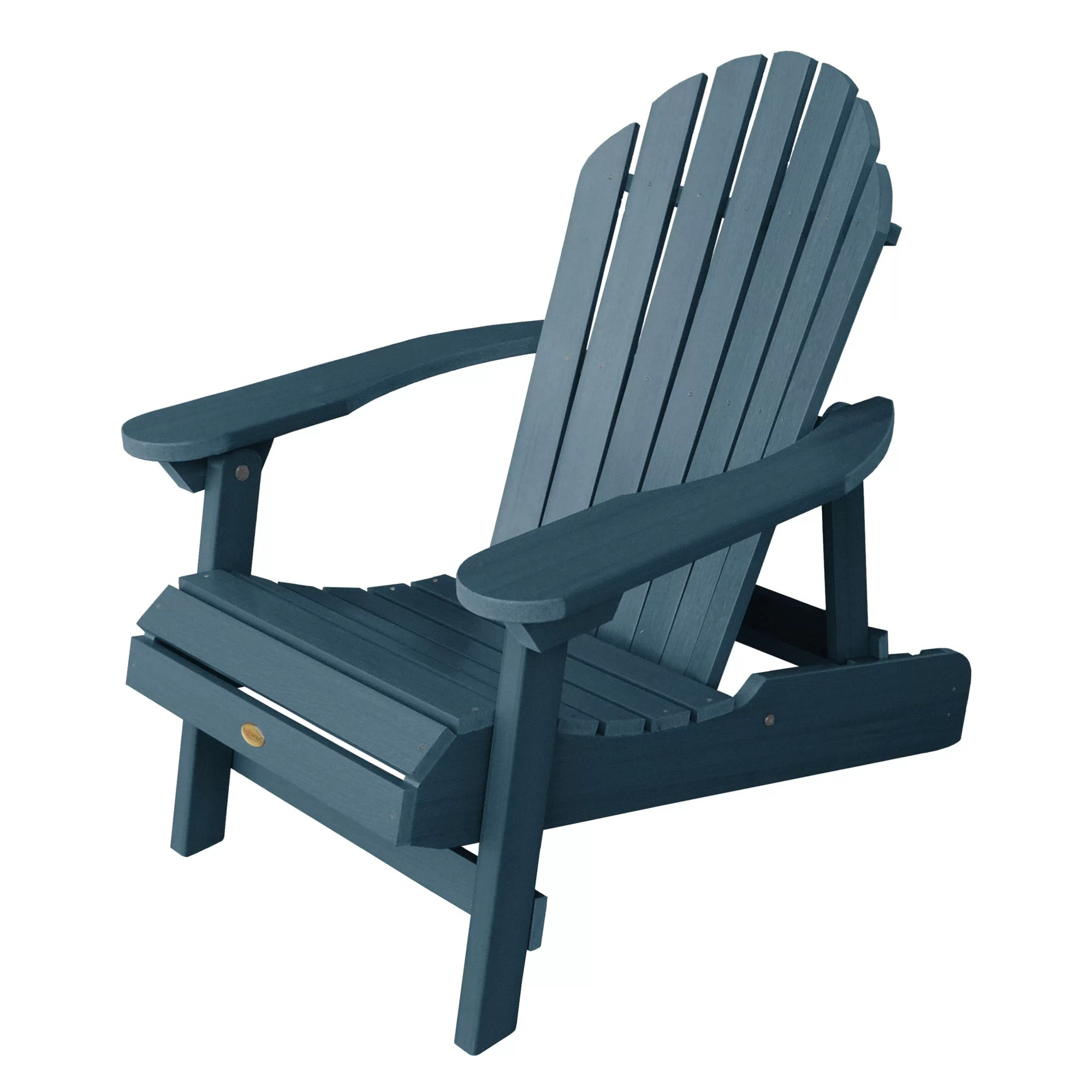 Collapsible Chair Anette Plastic Folding Adirondack Chair