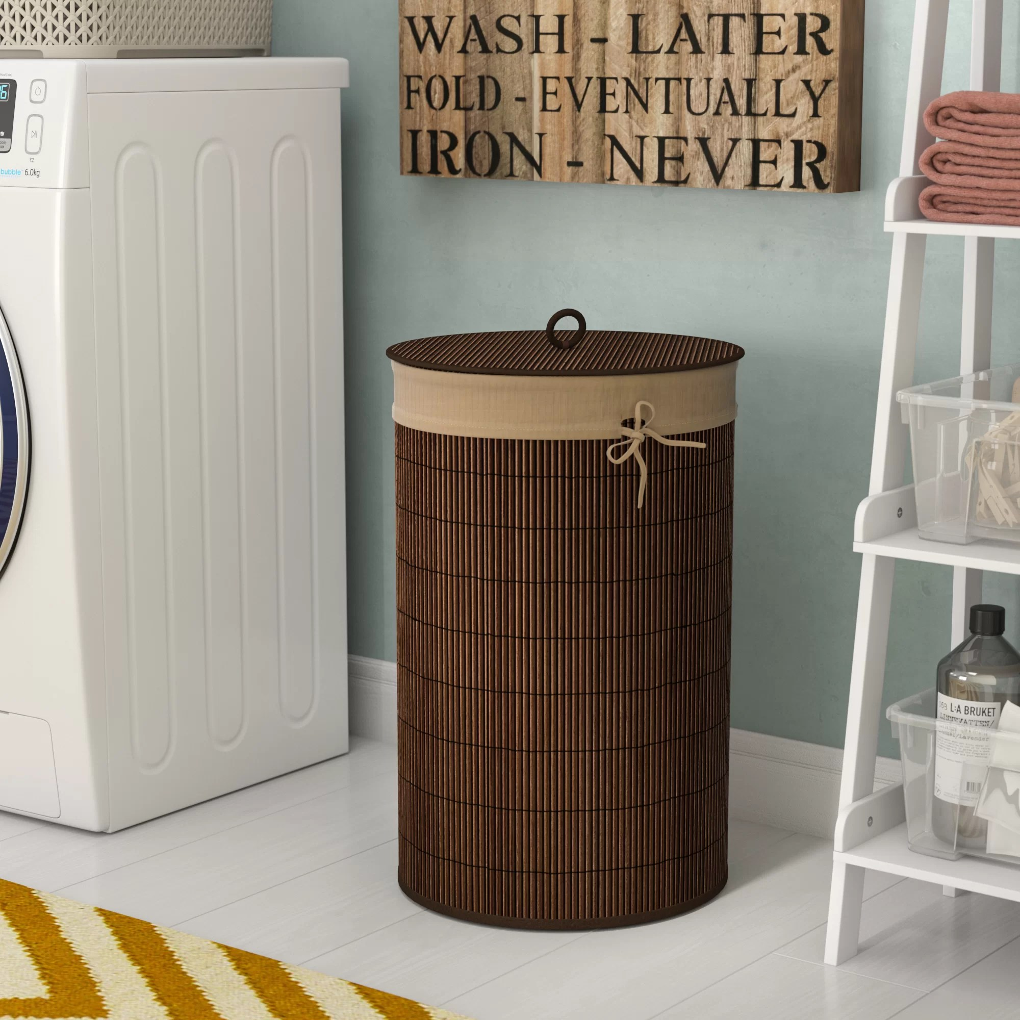Cute Laundry Hamper Bamboo Laundry Hamper