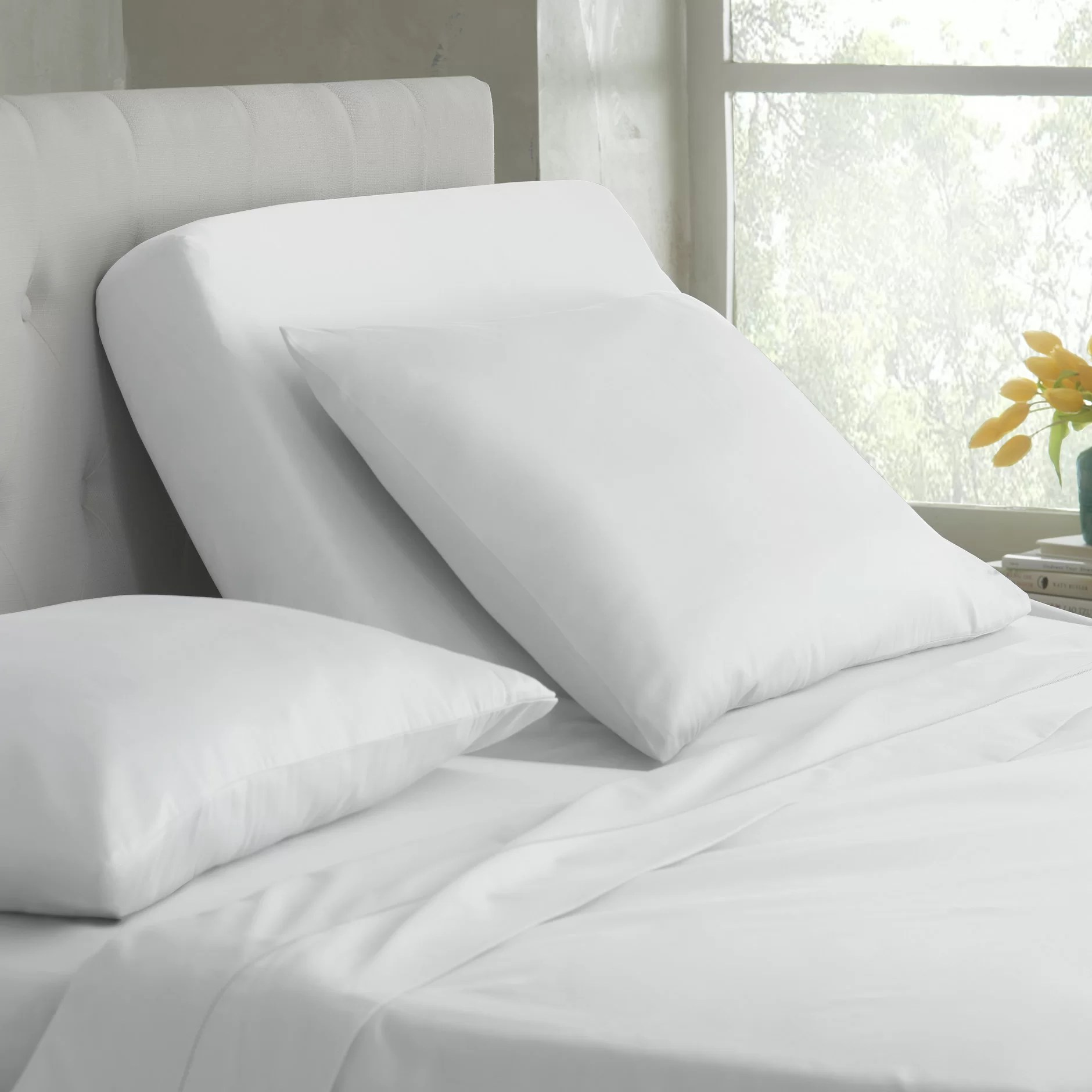 Deep Fitted Sheets Queen Size 400 Thread Count Cotton Sheet Set