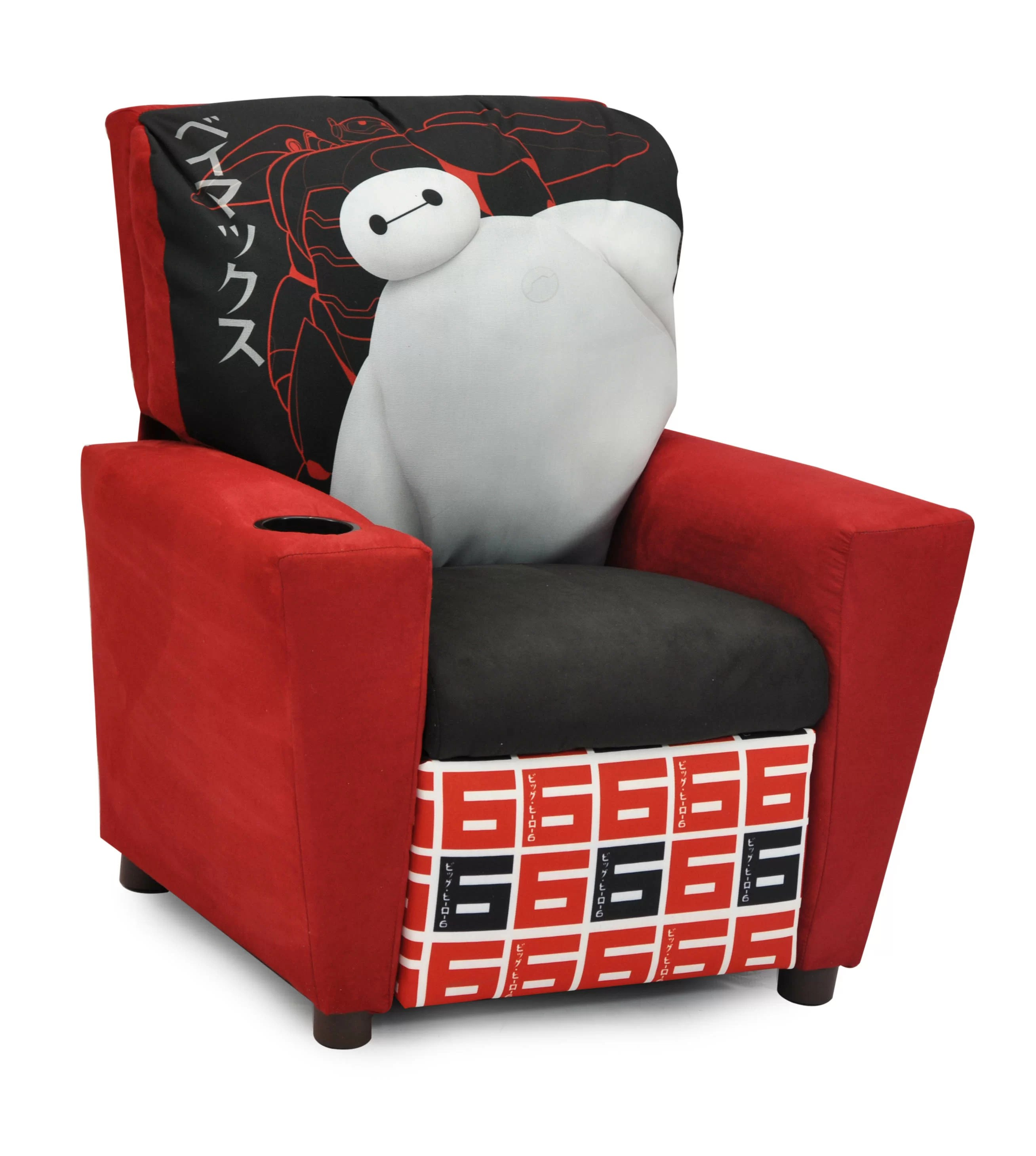 Big W Kids Chair Disney S Big Hero 6 Kids Recliner With Cup Holder