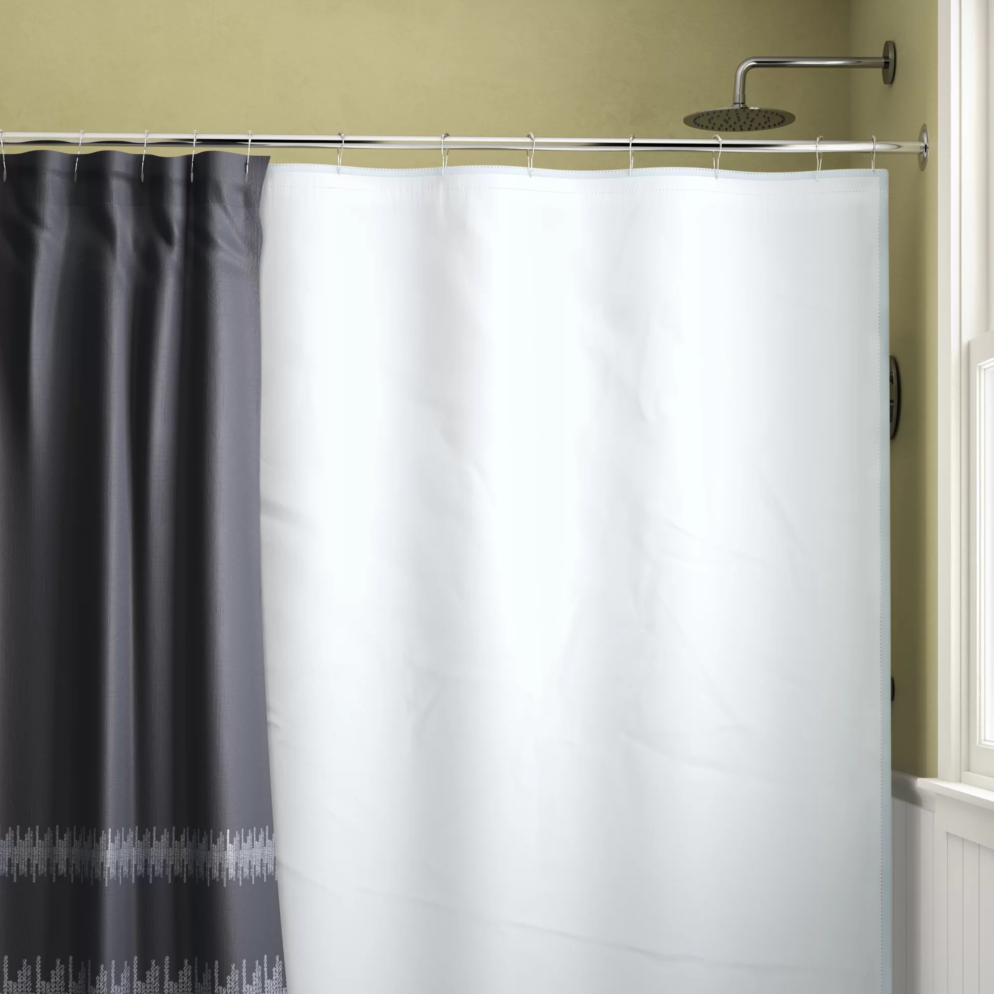 Shower Curtains Sale Waterproof Single Shower Curtain Liner