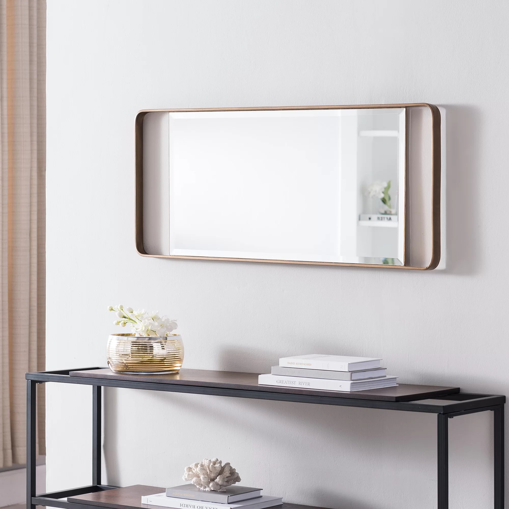 Decorative Mirror Table Maurine Decorative Modern And Contemporary Accent Mirror