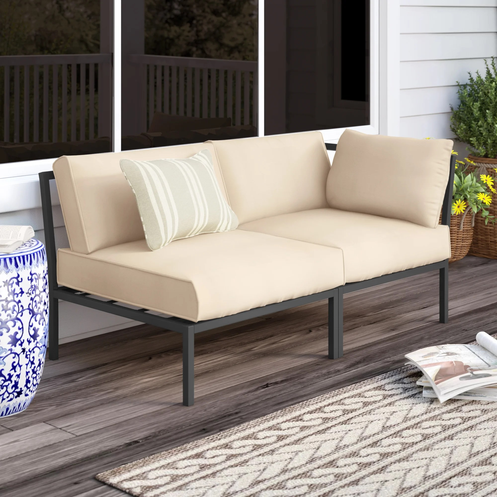 Outdoor Sofas Loveseats You Ll Love In 2020 Wayfair - Outdoor Furniture Clearance Free