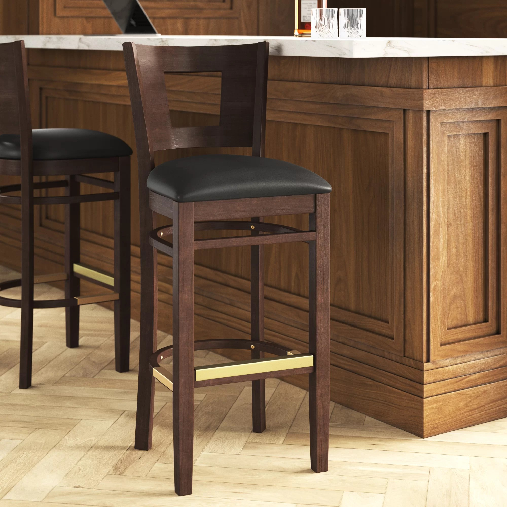 Full Back H D Restaurant Supply Inc Bar Stools Counter Stools You Ll Love In 2021 Wayfair