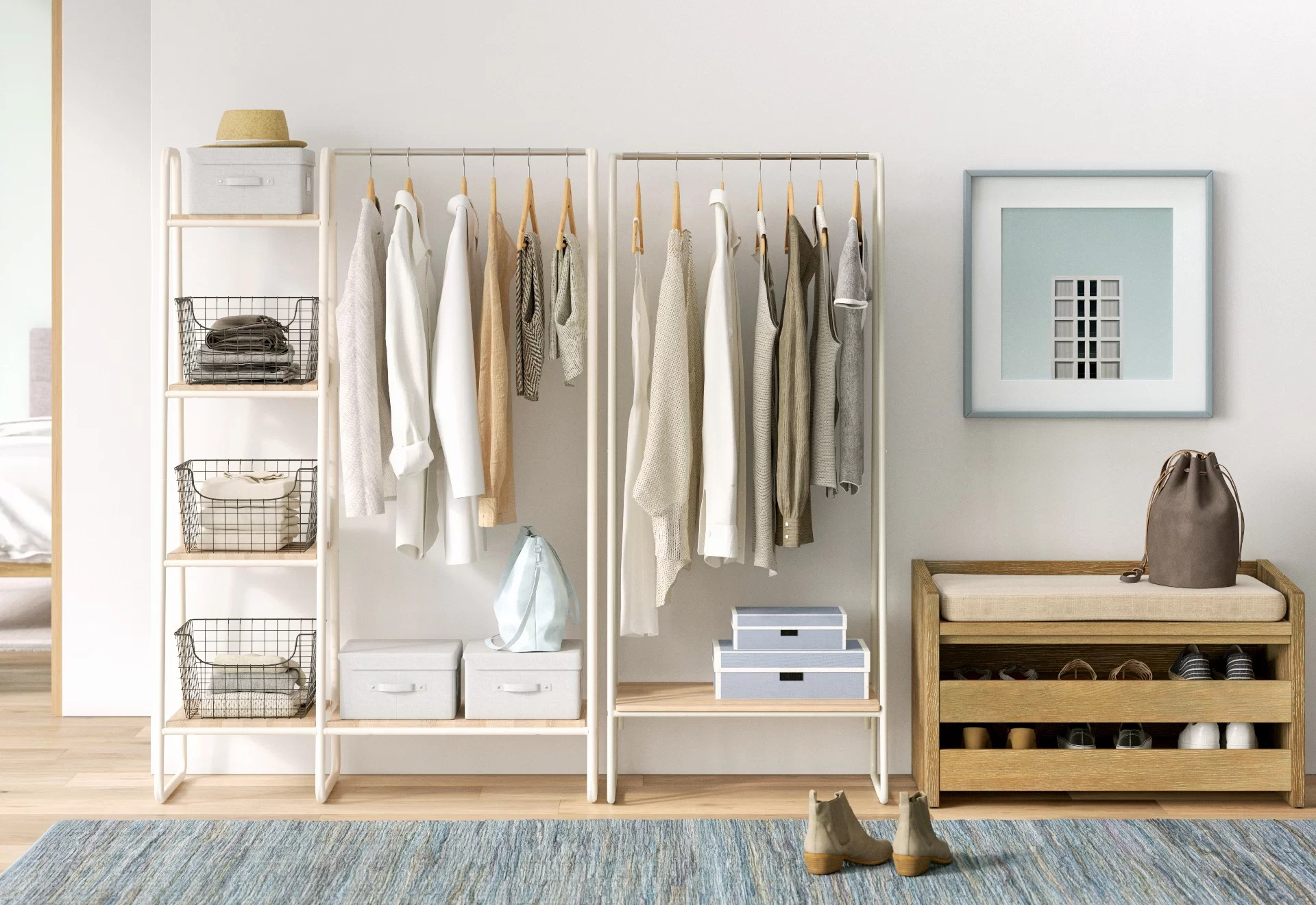 Tidy Up With These 7 Clothes Storage Ideas Wayfair