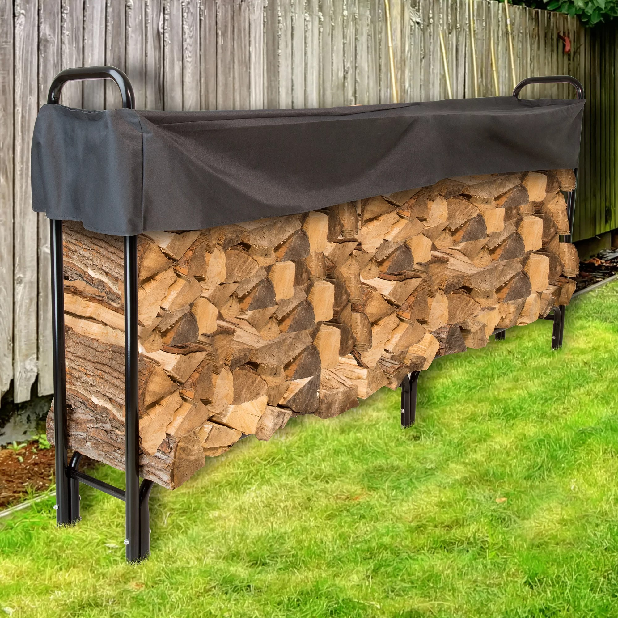 Outdoor Firewood Rack Firewood Log Rack