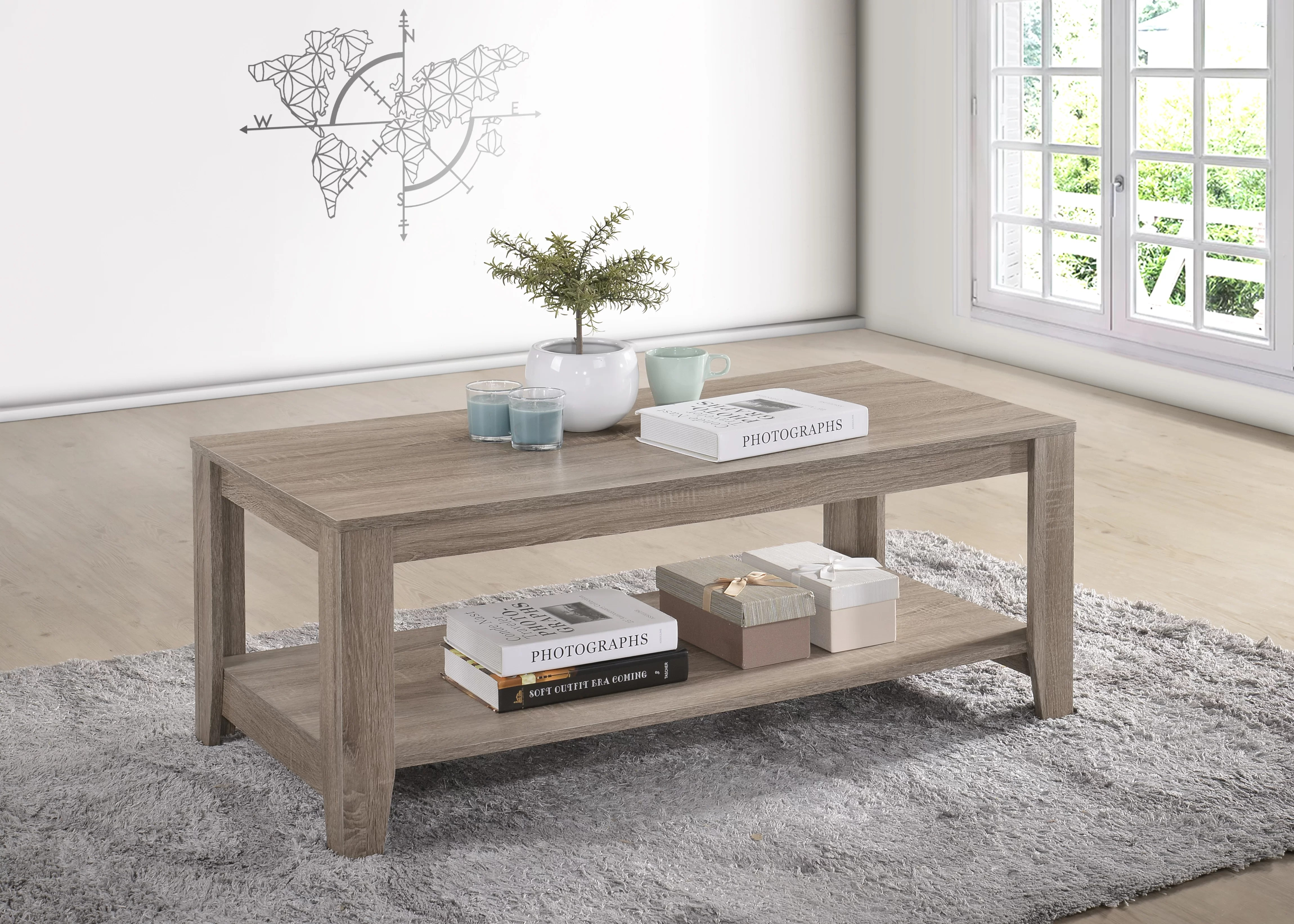 Highland Dunes Hille Coffee Table With Storage Reviews Wayfair