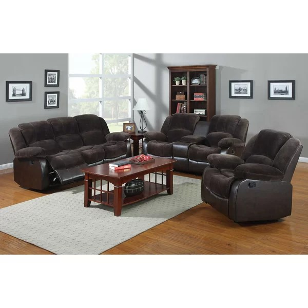 NathanielHome Aiden 3 Piece Living Room Set \ Reviews Wayfair - 3 piece living room sets