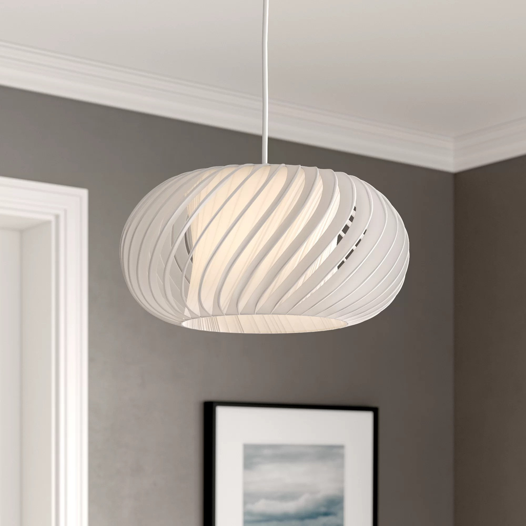 Ceiling Light Shades 30cm Fabric Novelty Pendant Shade