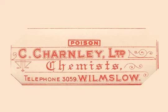Buyenlarge \u0027C Charney, Lw Chemists Label\u0027 Textual Art  Reviews - label
