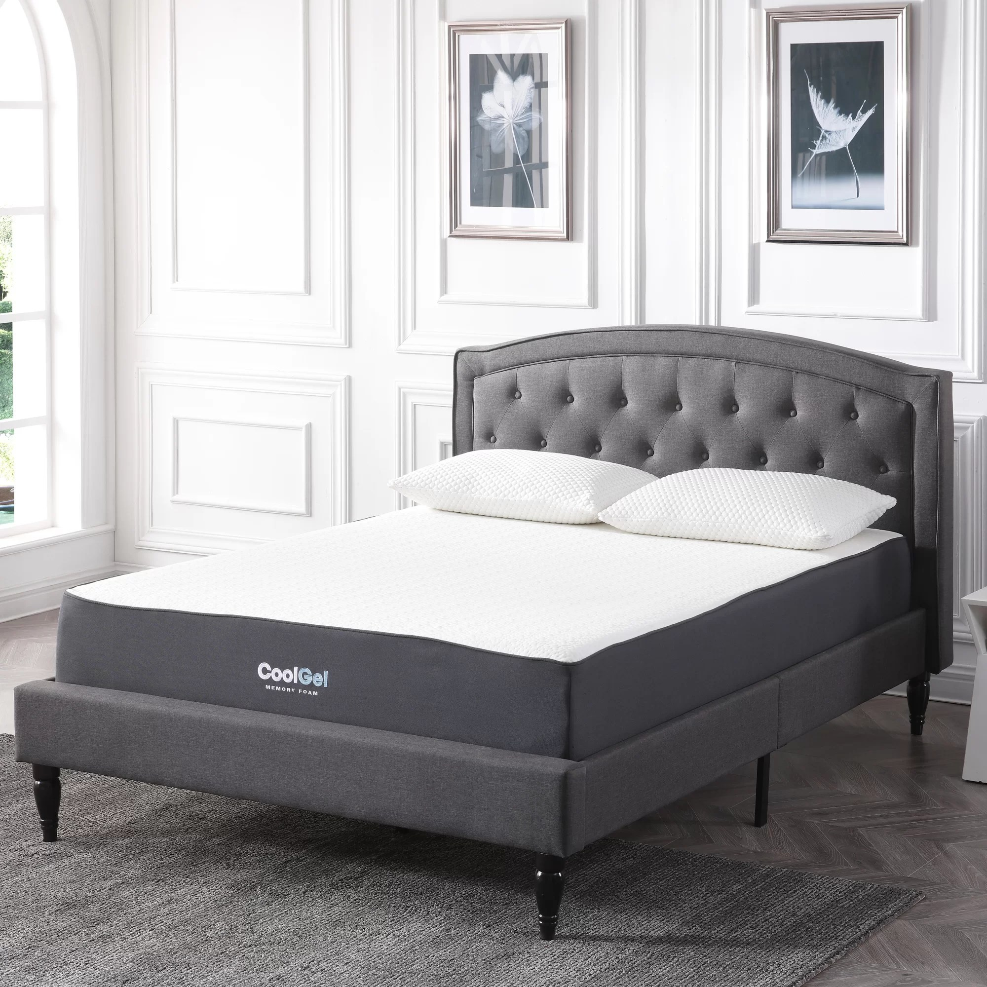 Beds Memory Foam Mattress Alwyn Home 10 5
