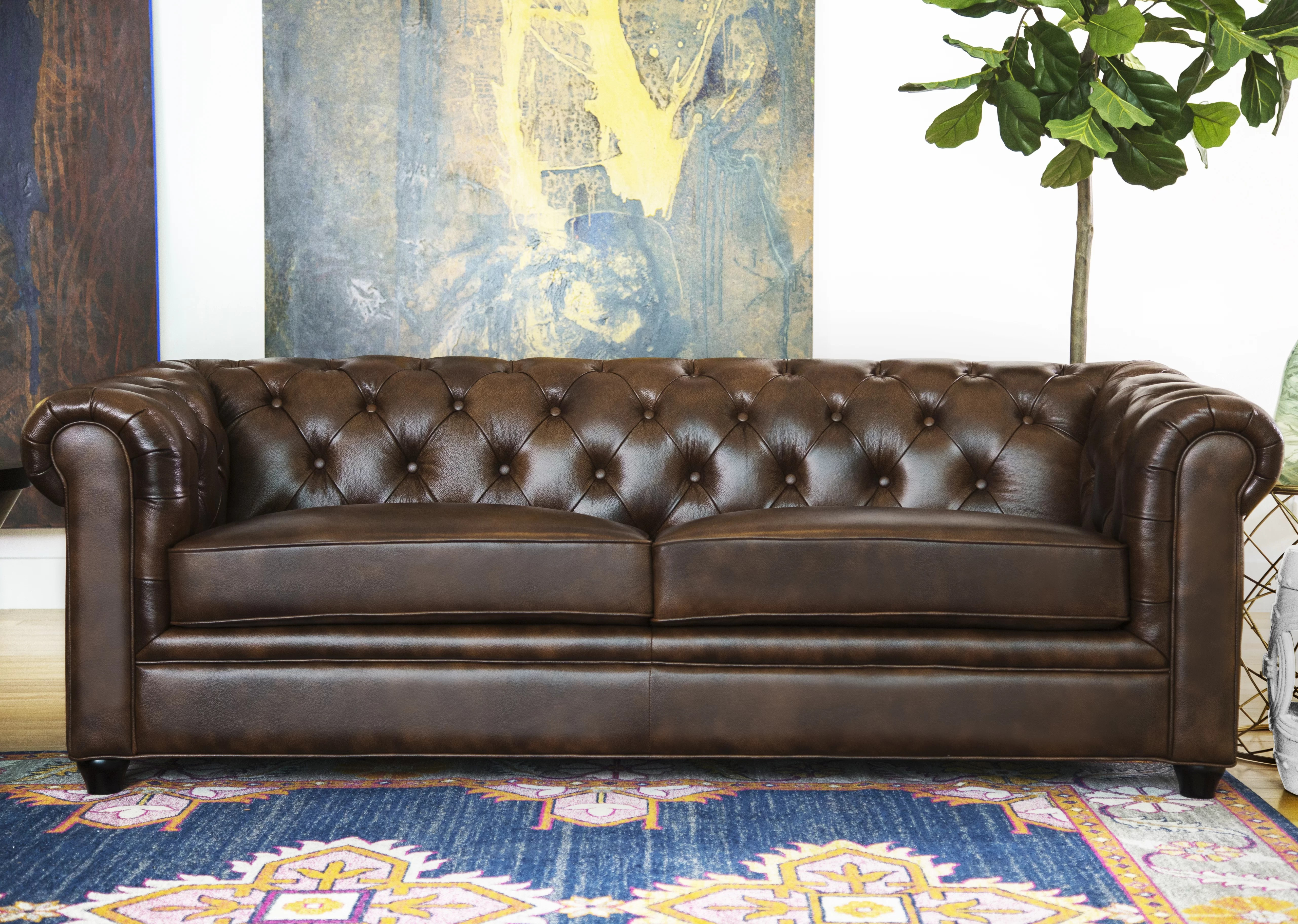 Sofa Foam Cleaner Cleaning 101 How To Clean A Leather Sofa Wayfair