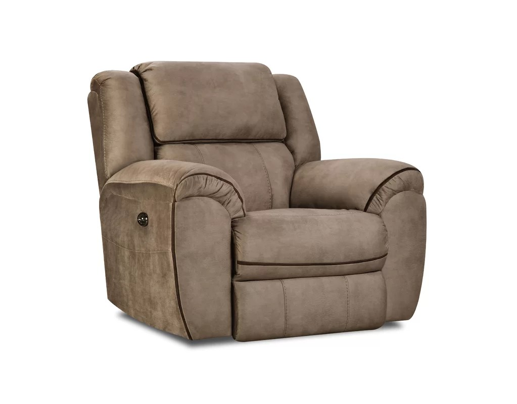 Electric Recliner Leather Chairs Simmons Power Recliner Wayfair