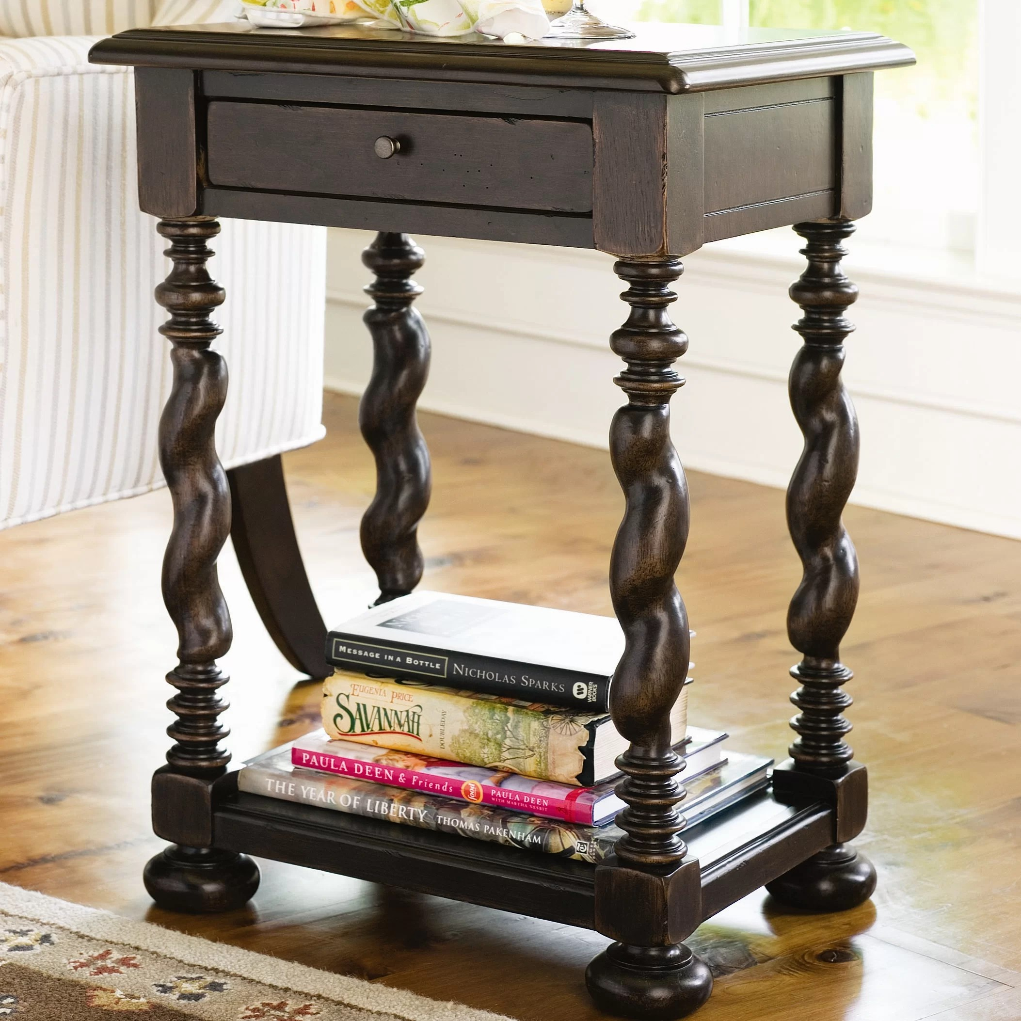 Pakenham Storage Bluhm End Table With Storage