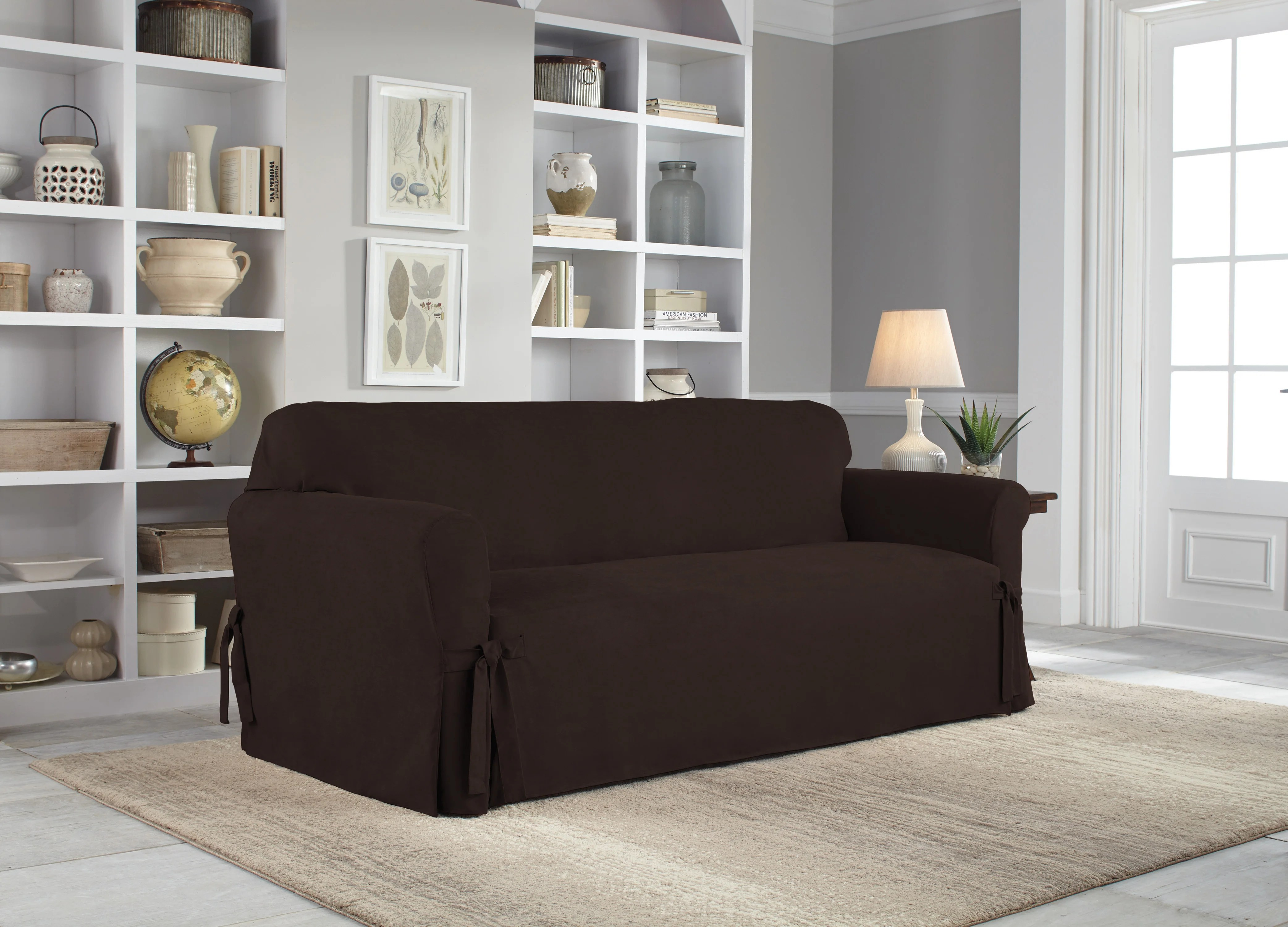 Home Sofa In A Box Box Cushion Sofa Slipcover