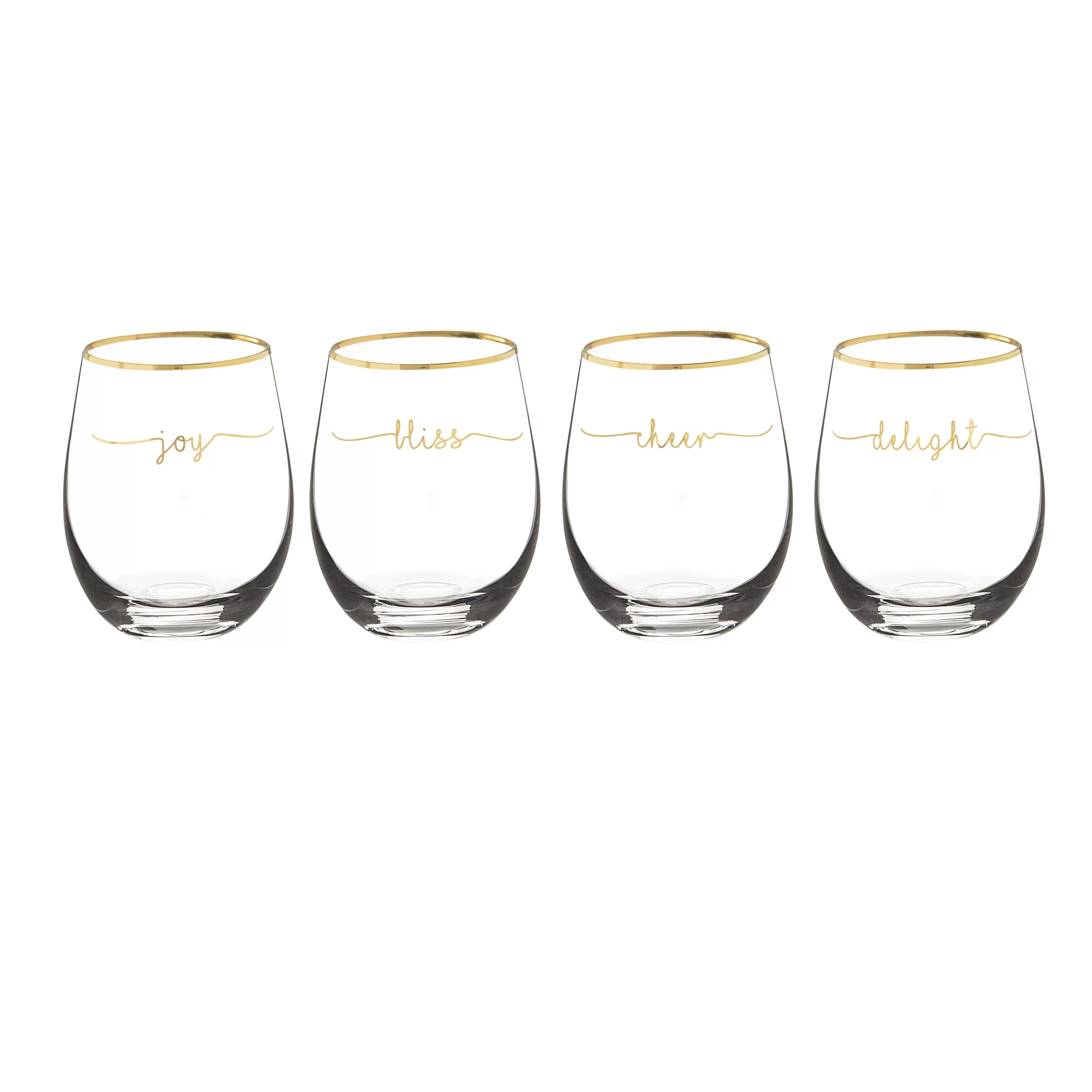 Whiskey Glasses Myer Myers 19 Oz Stemless Wine Glass