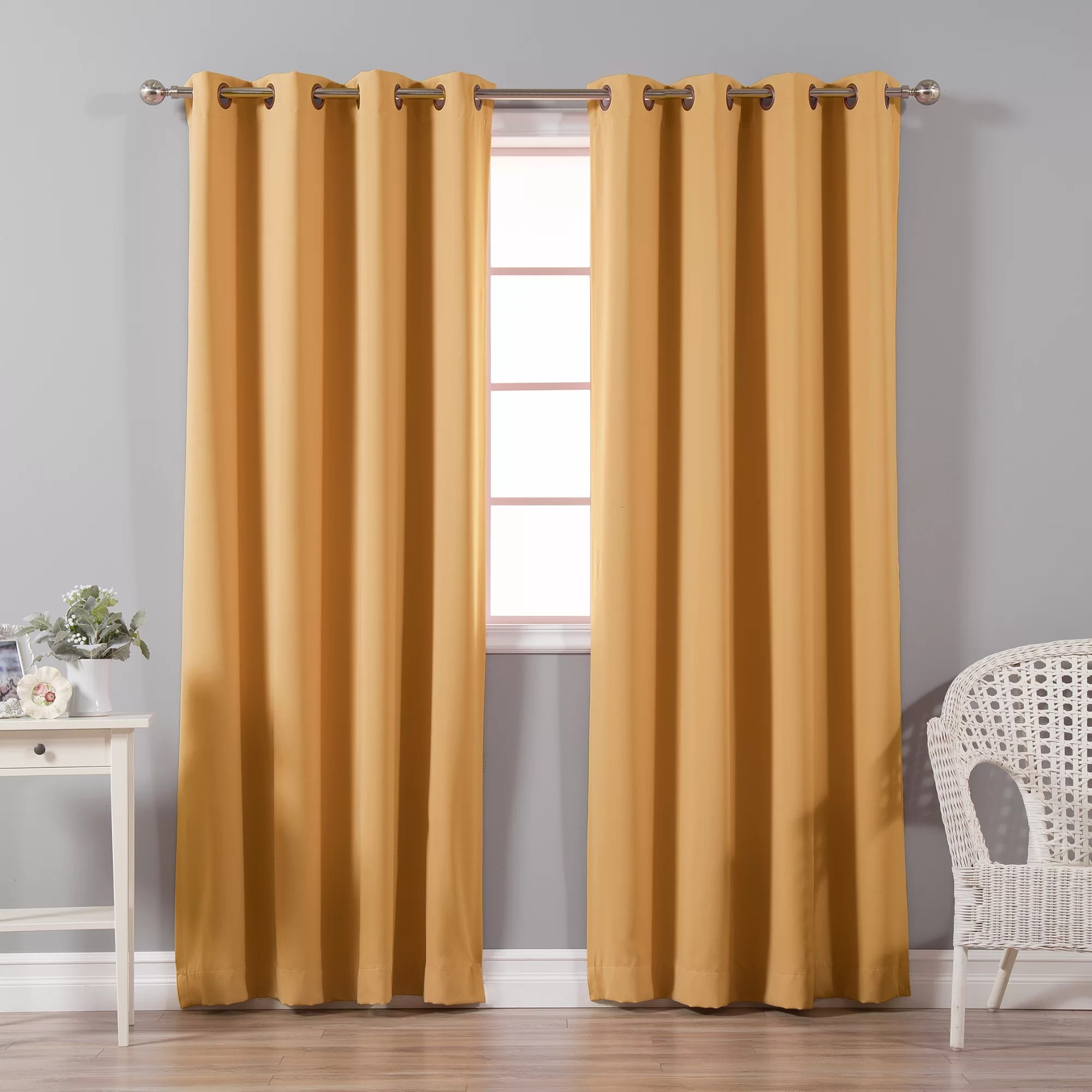 Orange Curtain Panels Lined Orange Curtains Drapes You Ll Love Wayfair