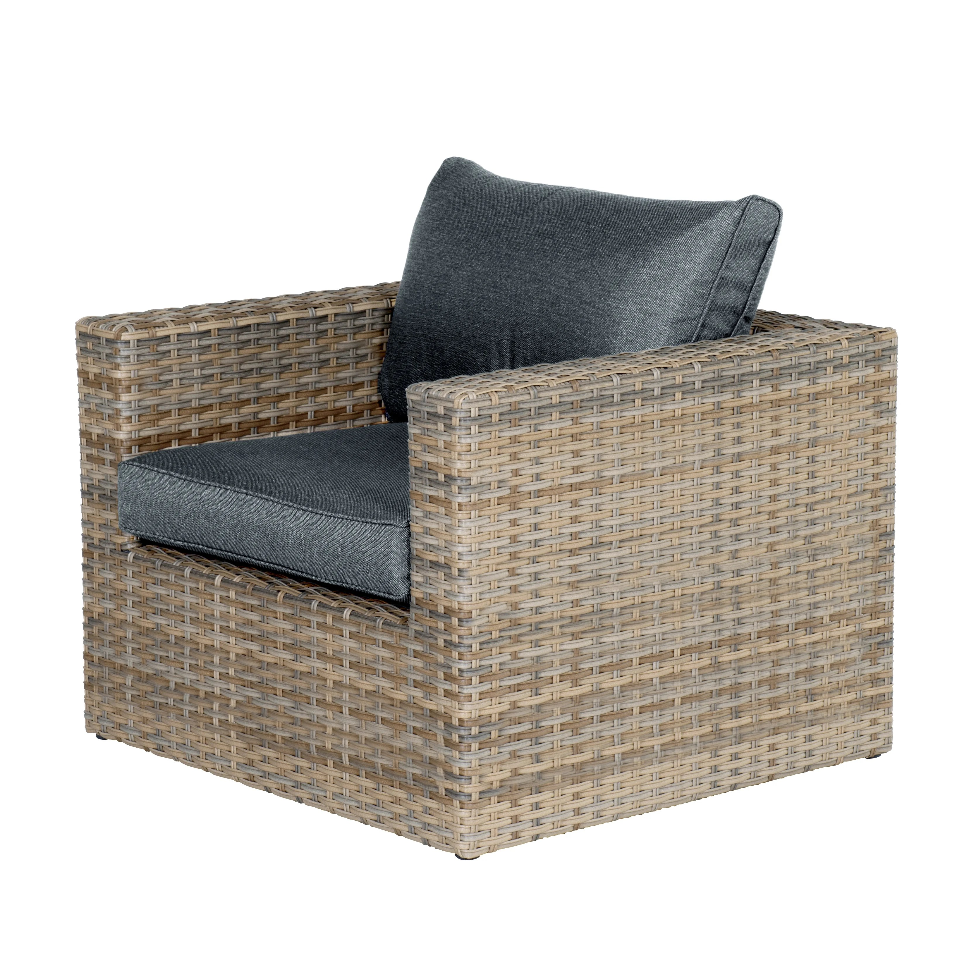 Sacly Lounge Sessel Loungesessel Yellowbird Mit Polster