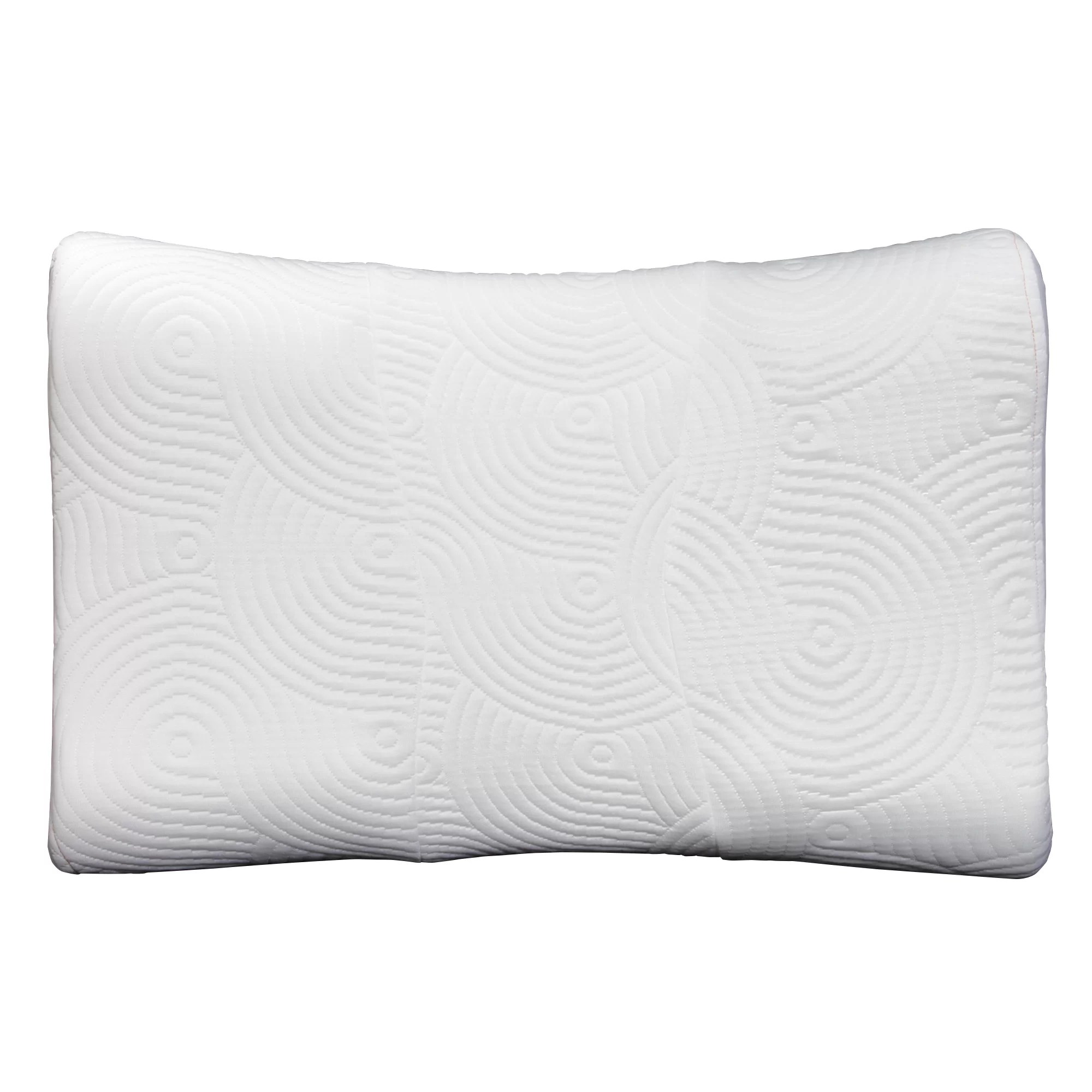 How To Use Tempurpedic Neck Pillow Tempur Ergo Advanced Neck Relief Firm Foam Queen Bed Pillow