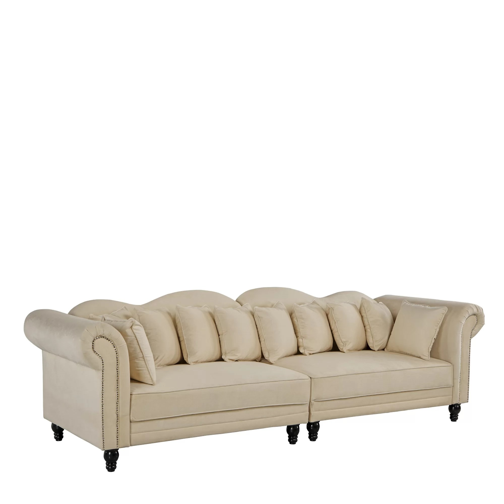 Big Sofa 290 Cm Johnstown Large Chesterfield Sofa