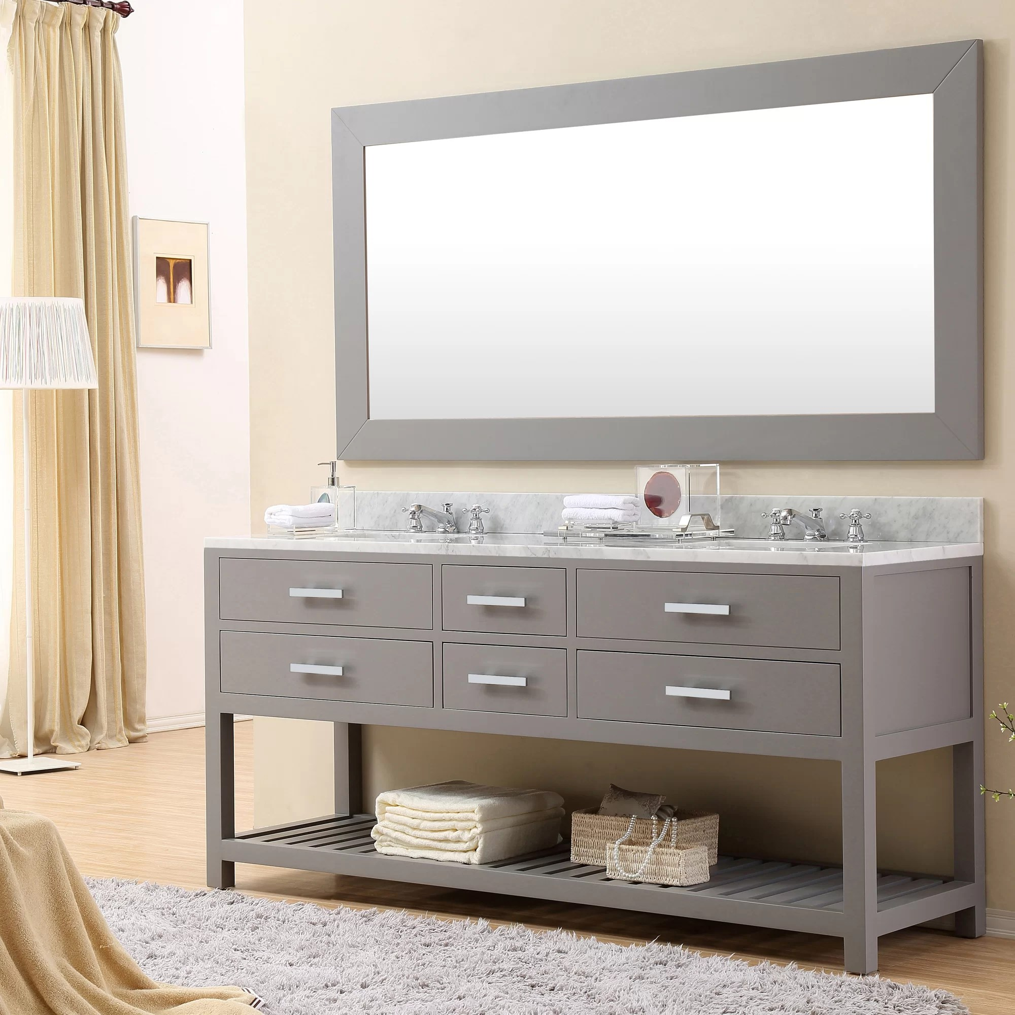 Bathroom Vanity 72 Double Sink Berghoff 72