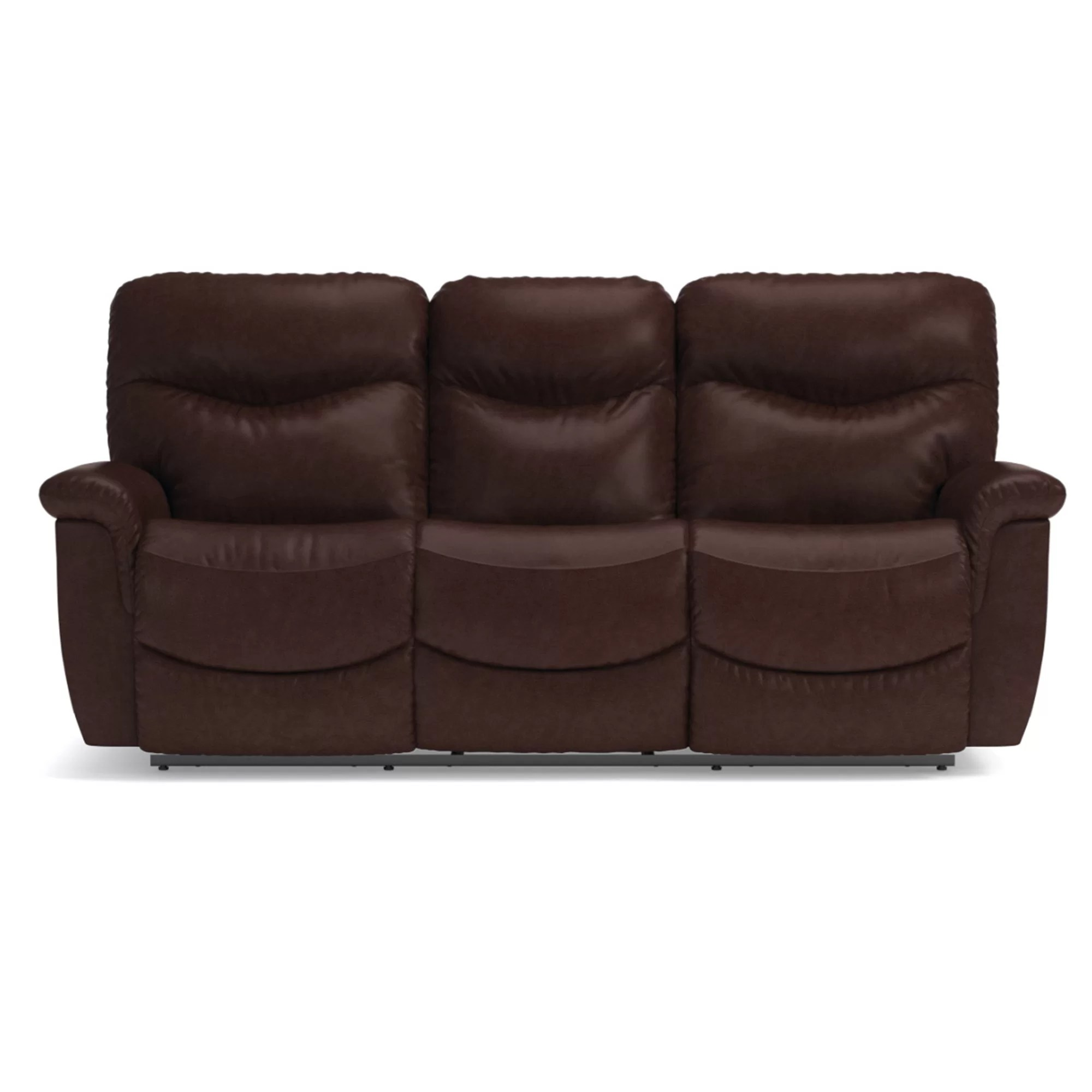 Leather Sofa La Z Boy James La Z Time Full Reclining Sofa