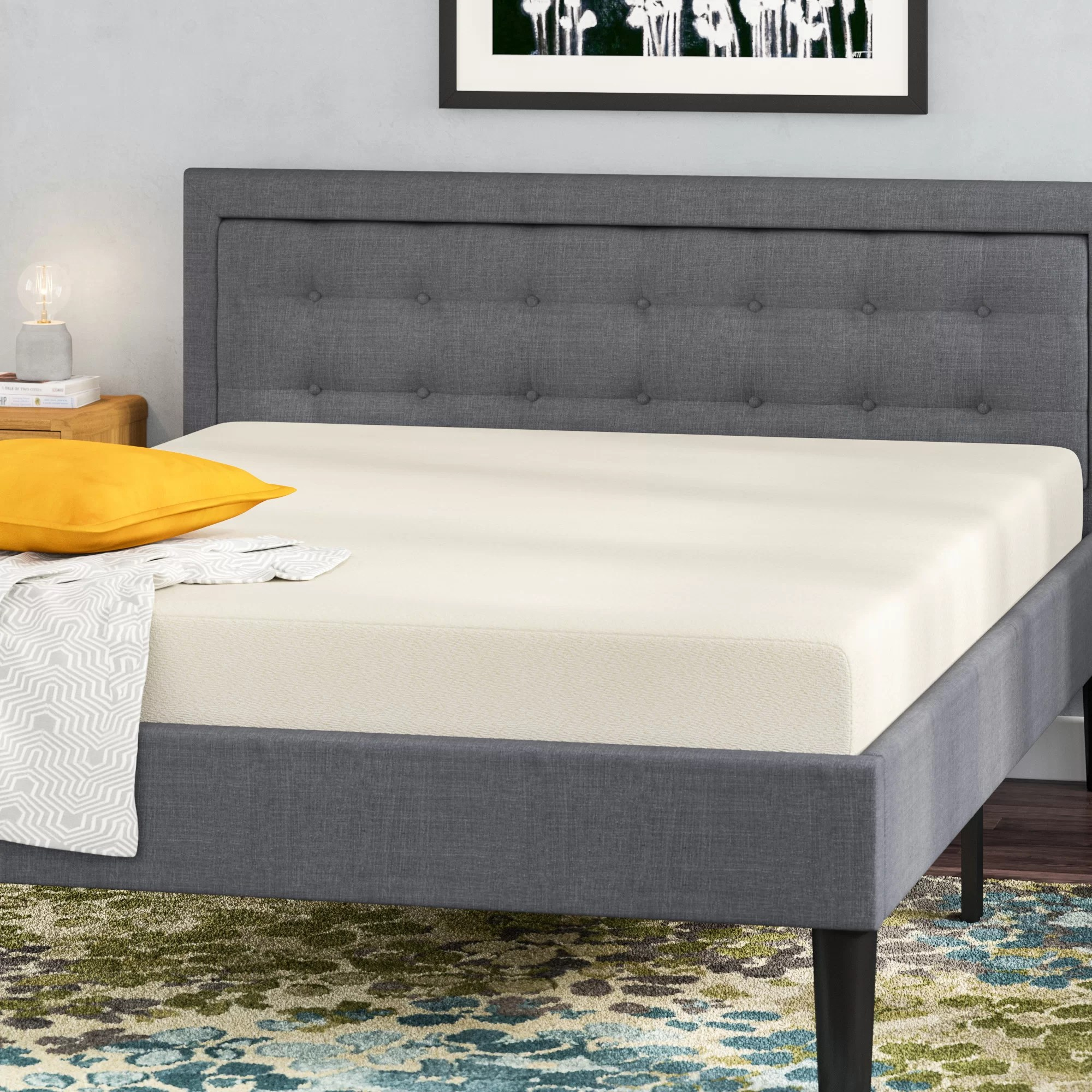 Memory Foam Mattress Too Firm Wayfair Sleep 8