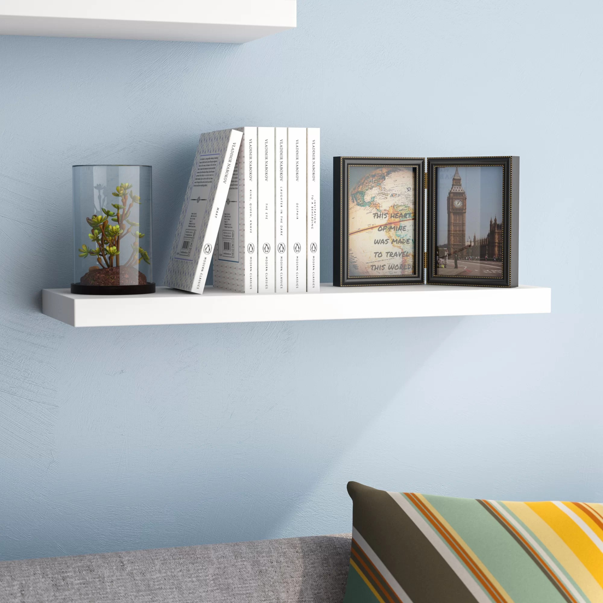 Wall Shelf Design Kennesaw Floating Wall Shelf