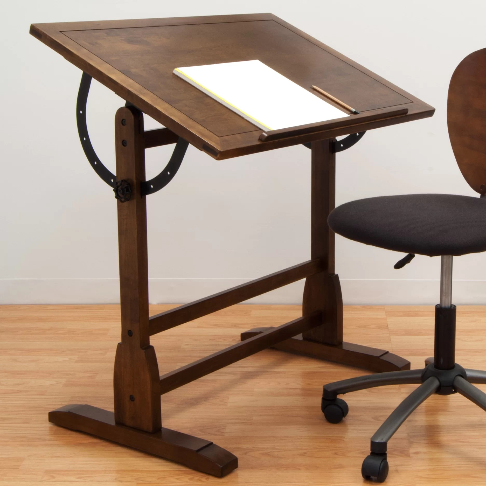 Adjustable Height Drafting Table Vintage Drafting Table