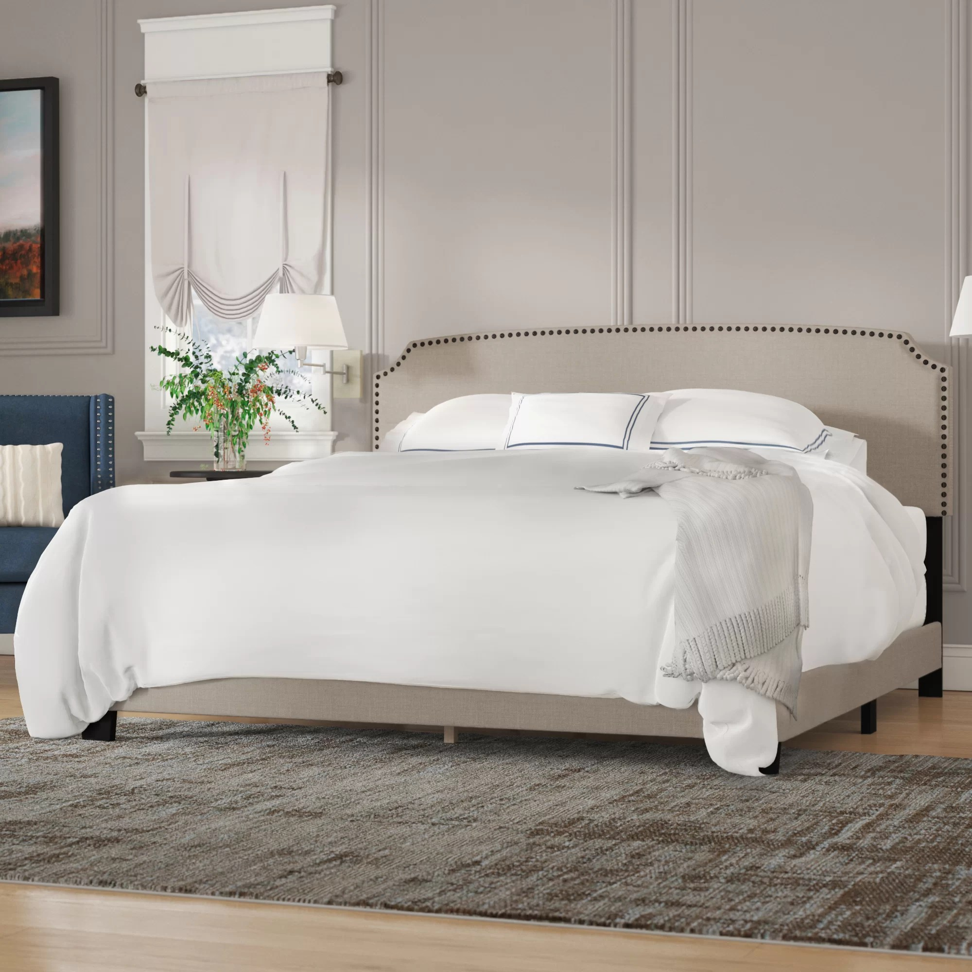 Kettler Kids Comfort Kettler Upholstered Panel Bed