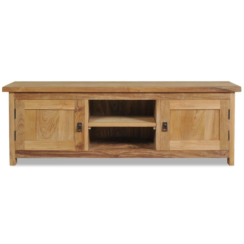 Charlton Home Vandegrift Solid Wood Tv Stand For Tvs Up To 50