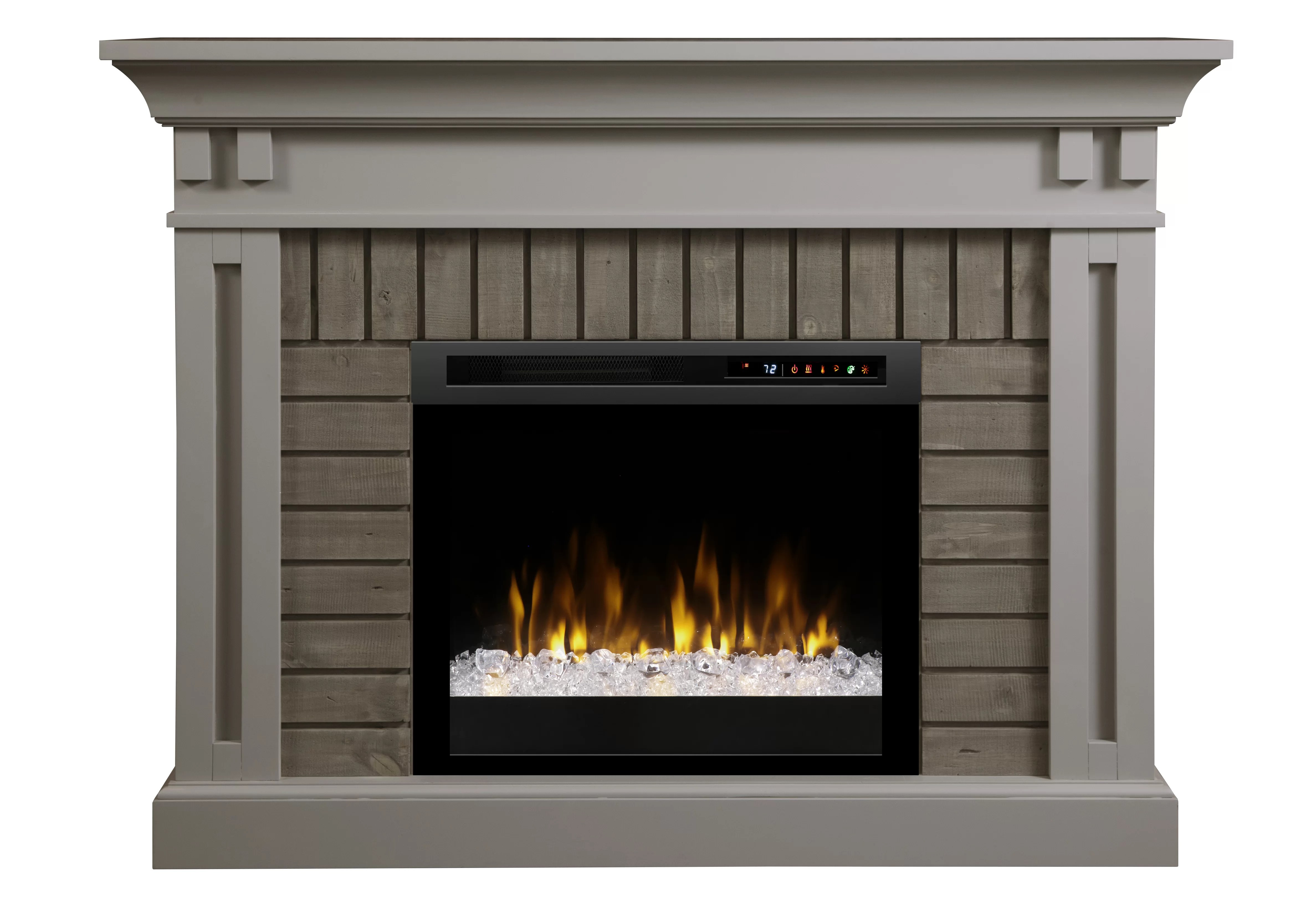 Plug In Electric Fireplaces Brookins Electric Fireplace