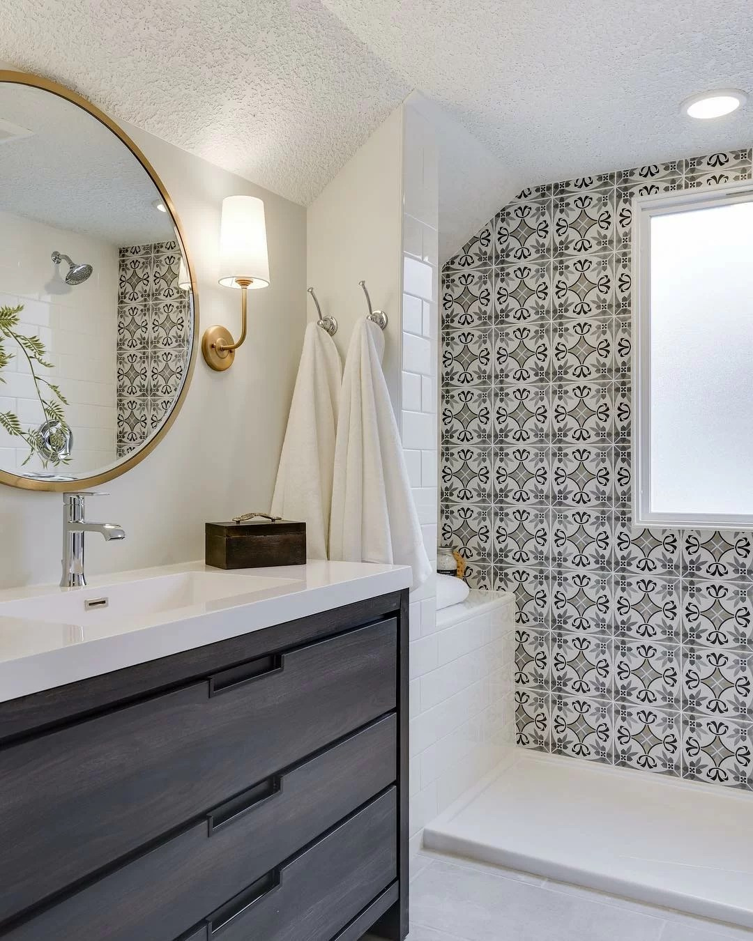 11 Dazzling Shower Tile Ideas For Your Shower Renovation Wayfair