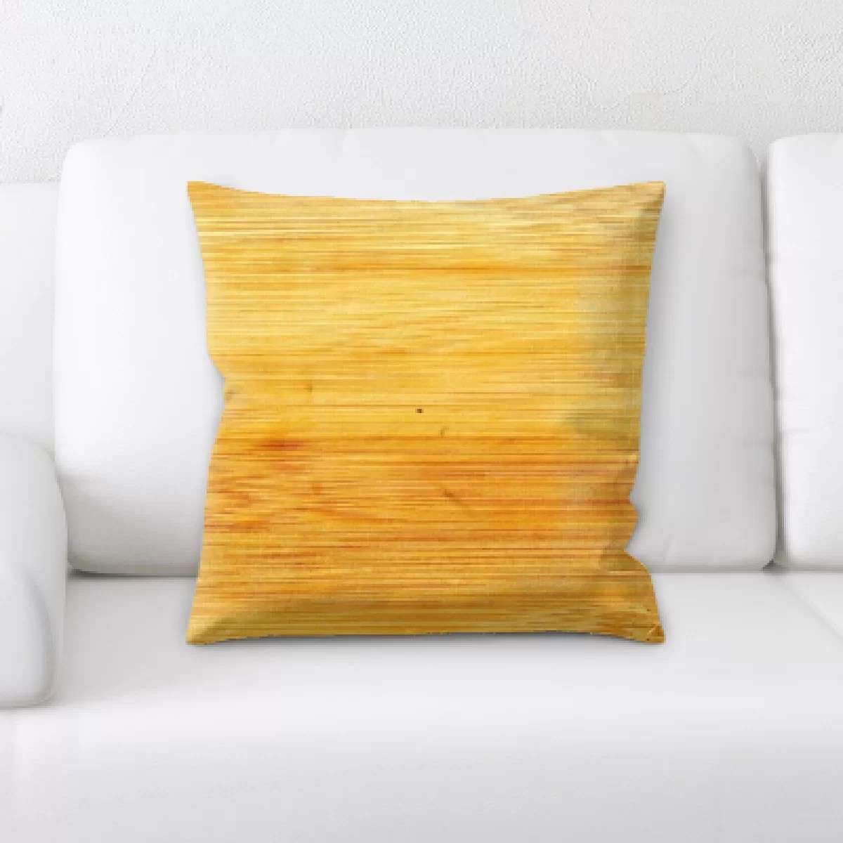 Campbelltown Furniture Ebern Designs Campbelltown Wooden Texture Throw Pillow
