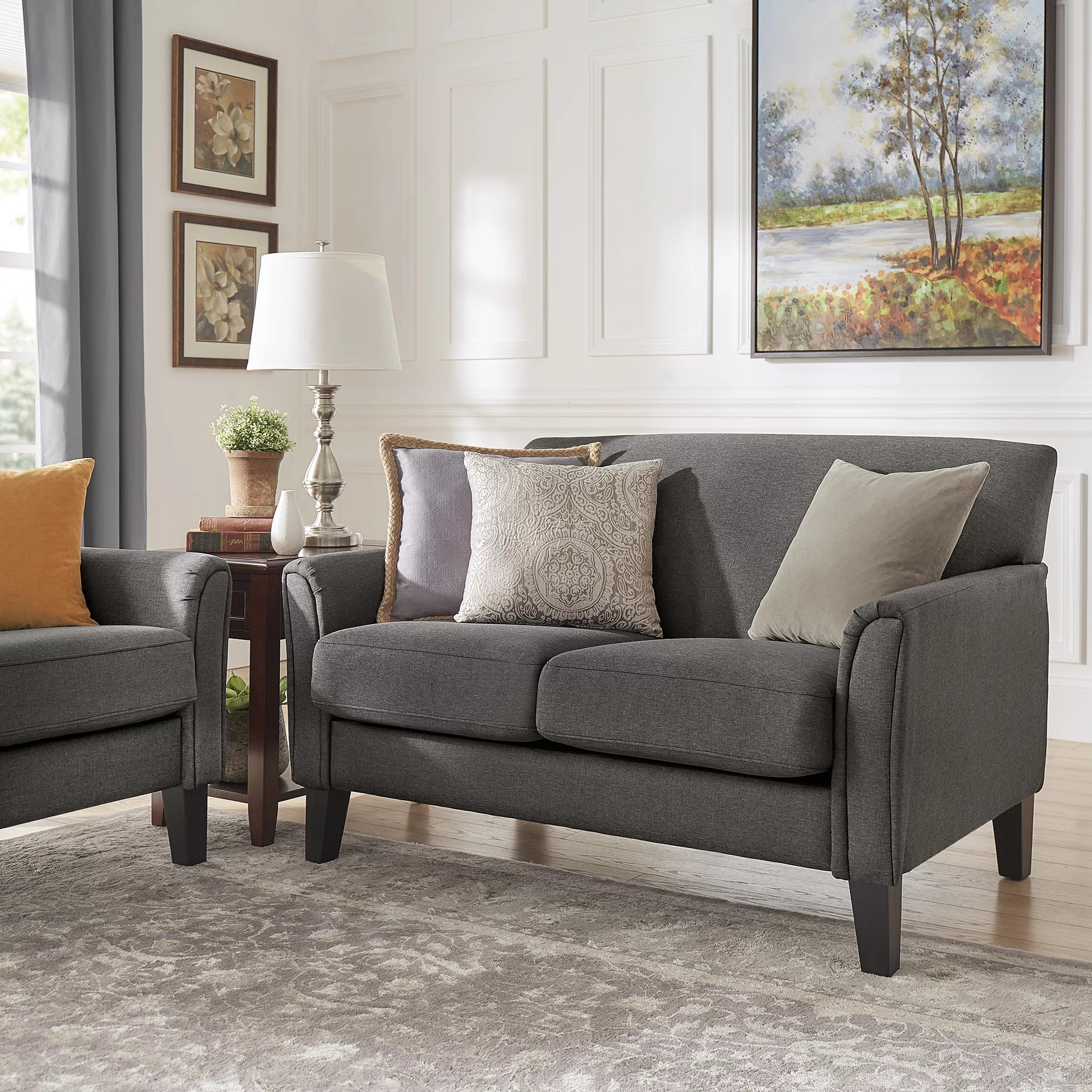 Grey Living Room Furniture Farmhouse Rustic Living Room Furniture Birch Lane