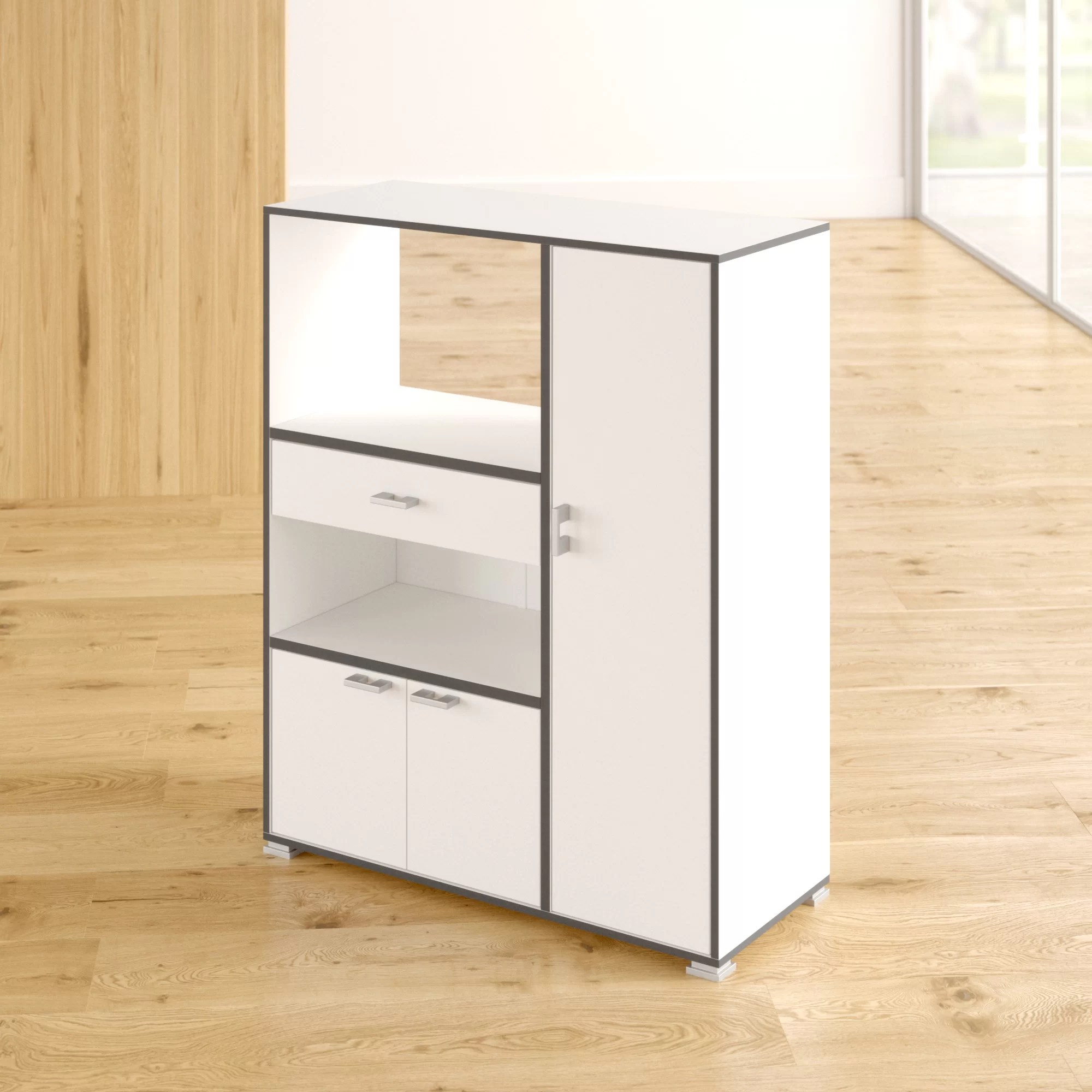Mobile Kücheninsel Zipcode Design Kelli Kitchen Island & Reviews | Wayfair.co.uk