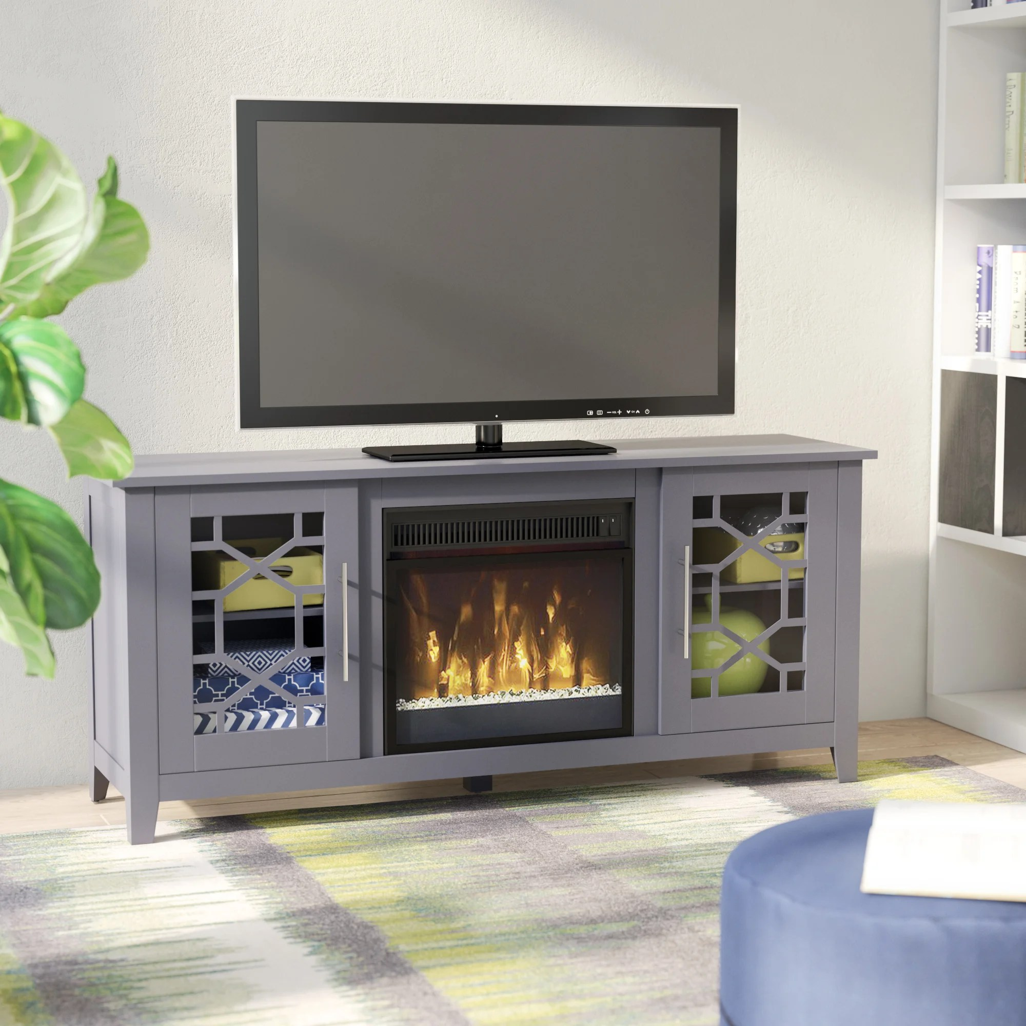 Meuble Tv Living Three Posts Jennings Tv Stand For Tvs Up To 60