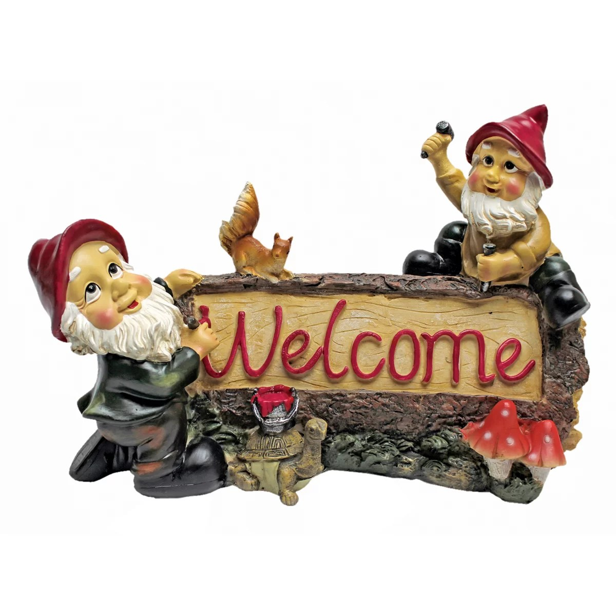 Welcome Statues Garden Garden Gnomes Welcome Statue
