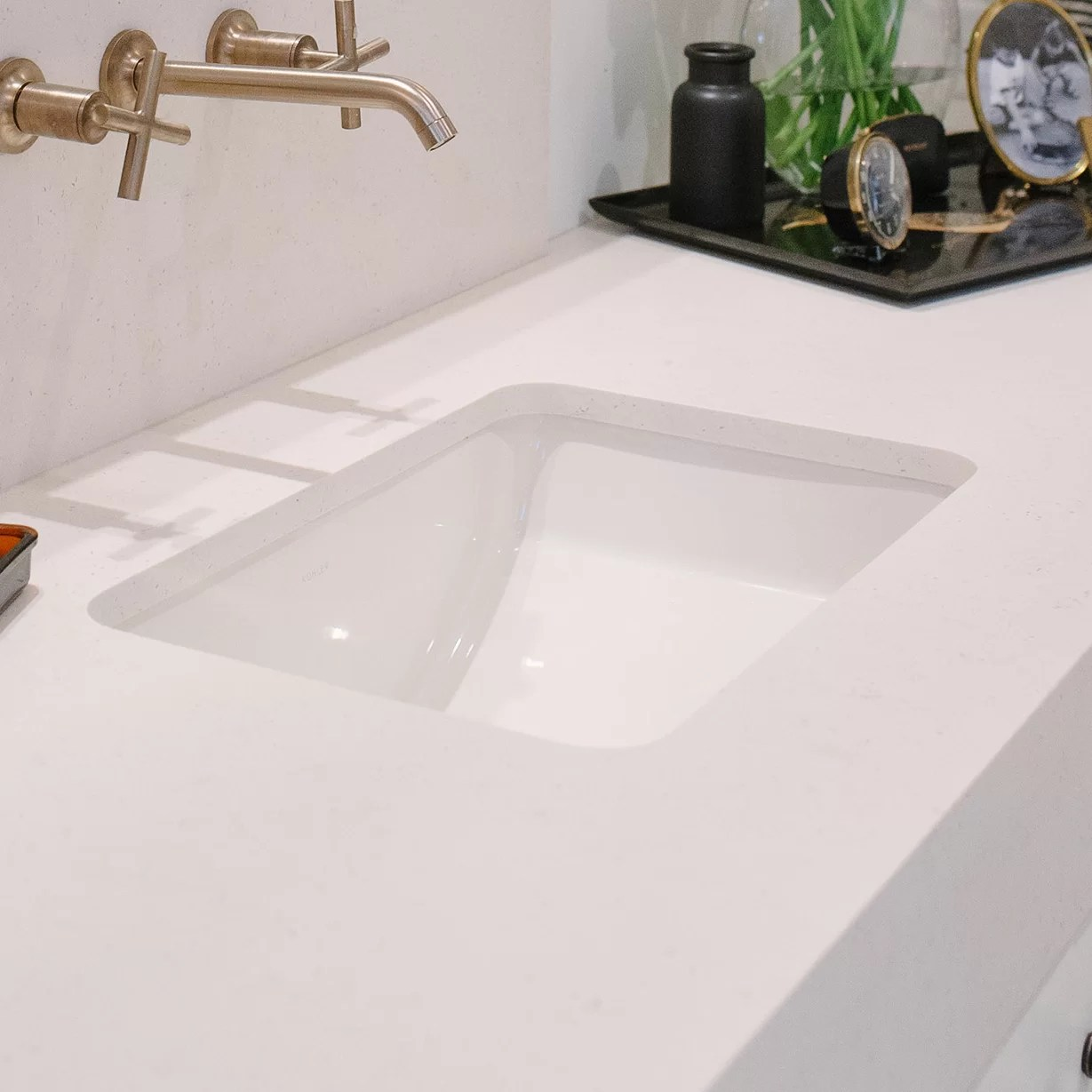 Kohler Ladena Ceramic Rectangular Undermount Bathroom Sink With Overflow Reviews Wayfair Ca