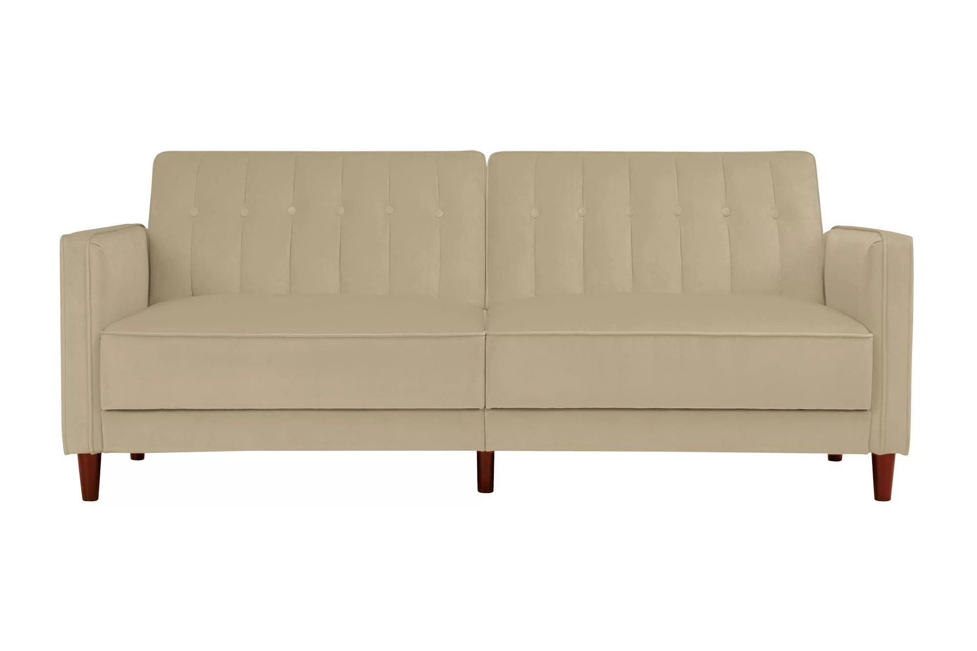 Sofa Entertainment Group Llc Nia Pin Tufted Convertible Sofa