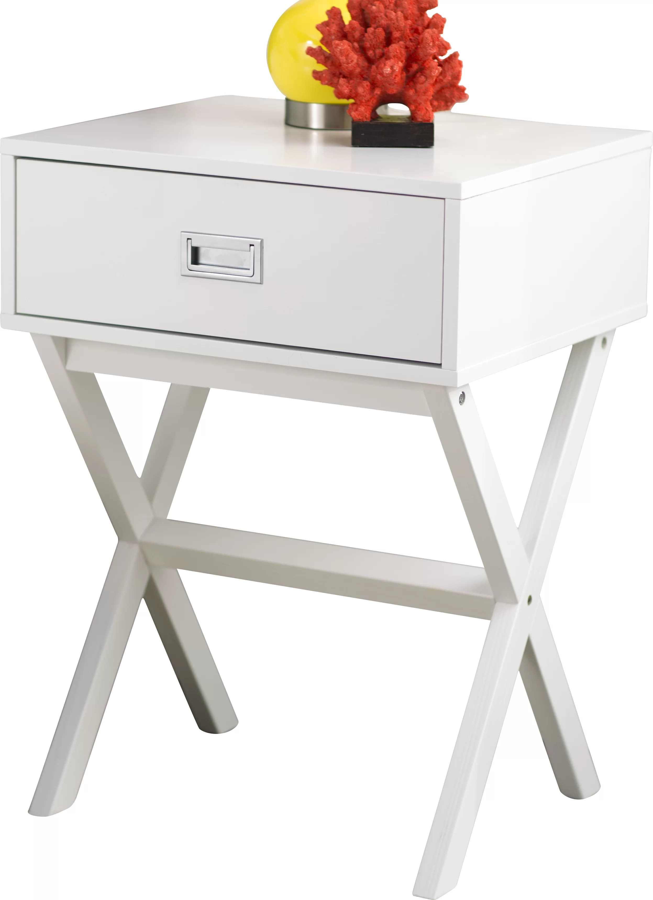 Coffee And End Tables With Storage Maison End Table With Storage Reviews Allmodern