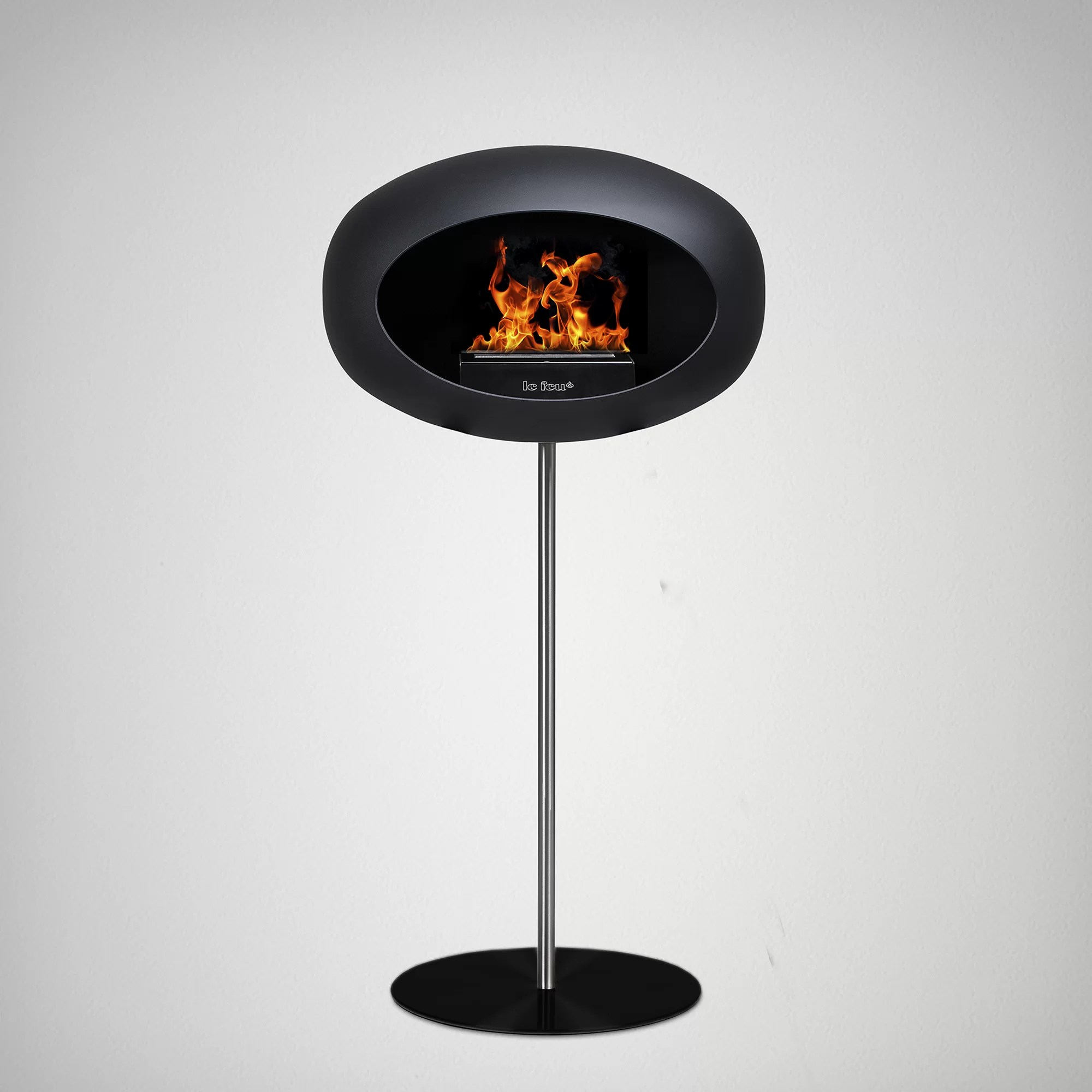 Ethanol Fireplaces Reviews Ground Steel Bio Ethanol Fireplace
