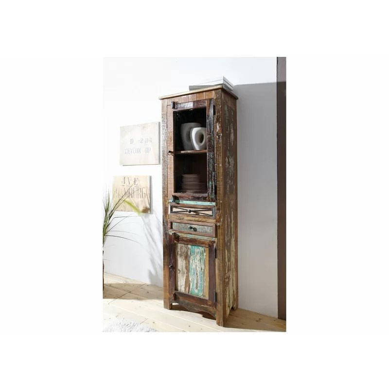 Eckvitrine Rund Massivmoebel24 Eckvitrine Nature Of Spirit | Wayfair.de