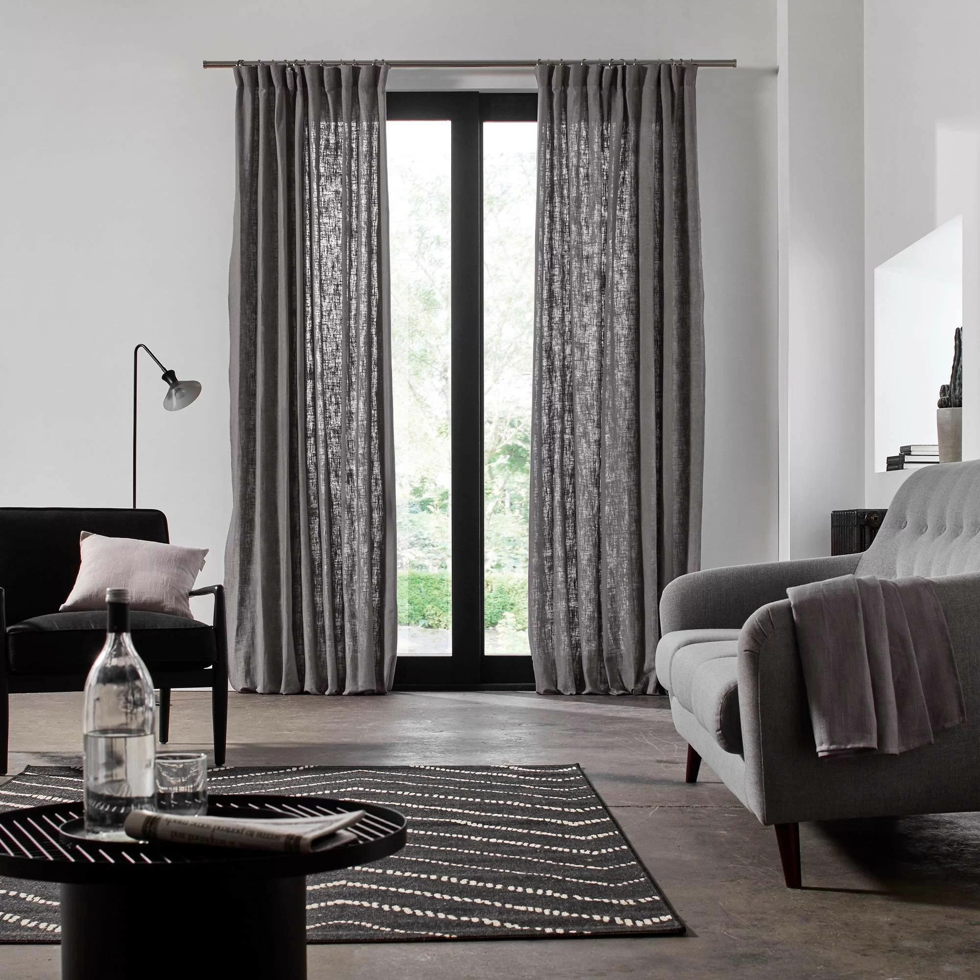 Schlafzimmer Set Bellevue Madura Bellevue Pencil Pleat Semi-sheer Single Curtain & Reviews | Wayfair.co.uk