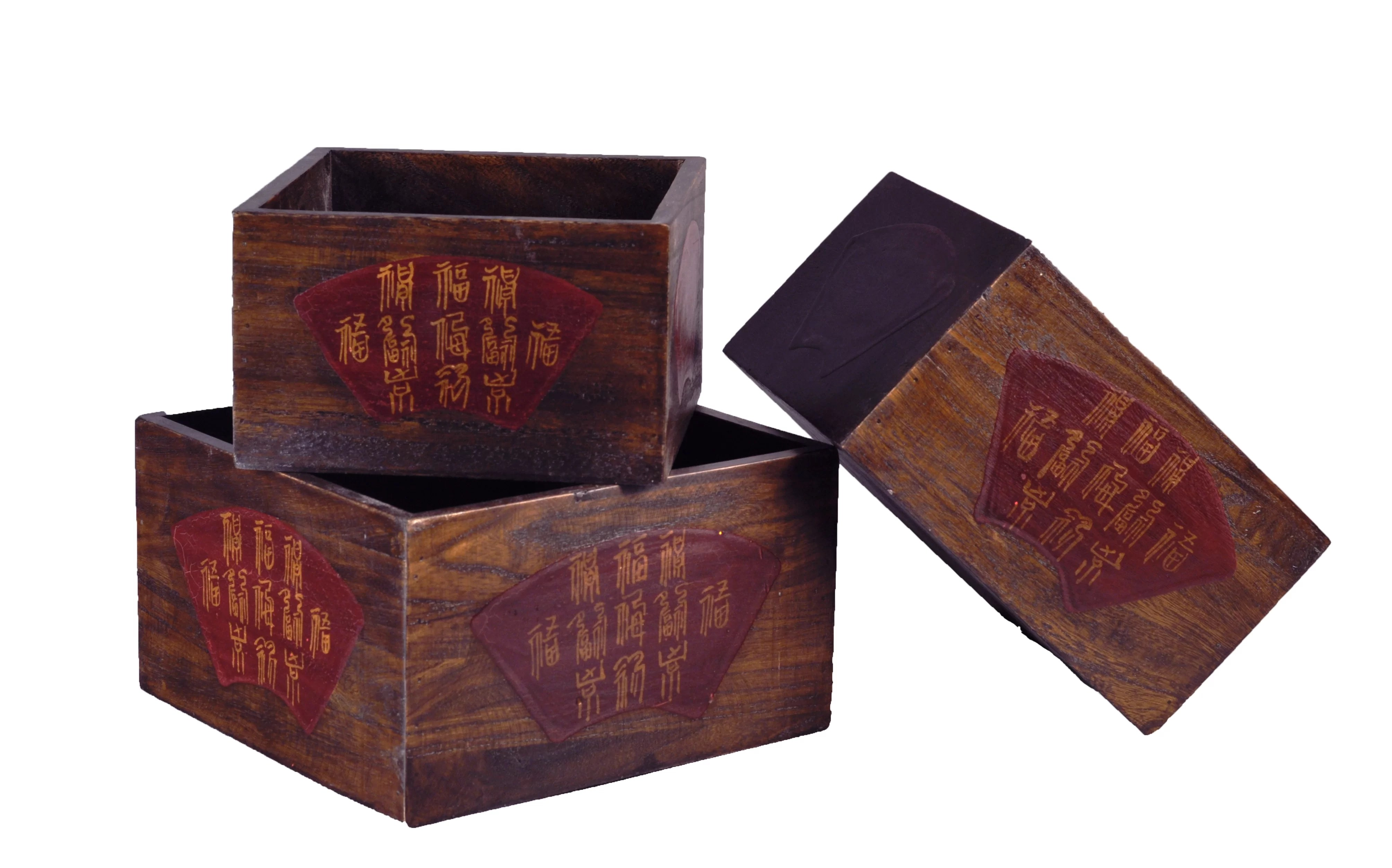 Asian Home Decor Accessories Chinese Wood Planter Box