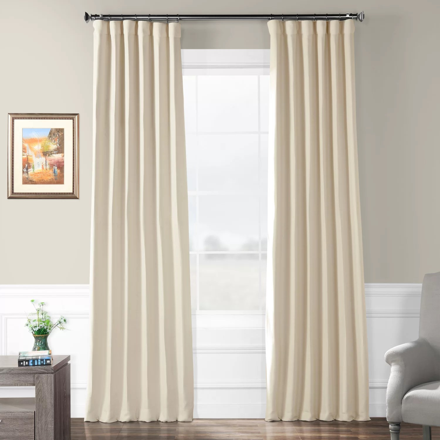 36 Inch Room Darkening Curtains Freemansburg Room Darkening Thermal Rod Pocket Single Curtain Panel