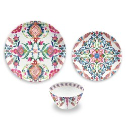 Small Crop Of Melamine Dinnerware Sets