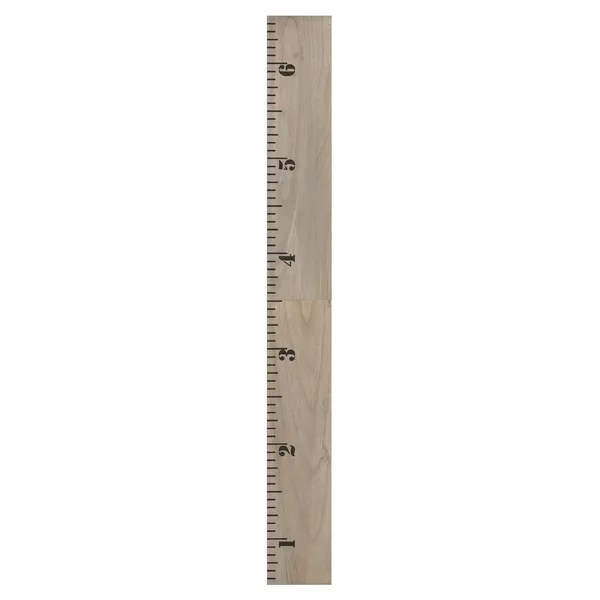 Wooden Ruler Growth Chart Wayfair