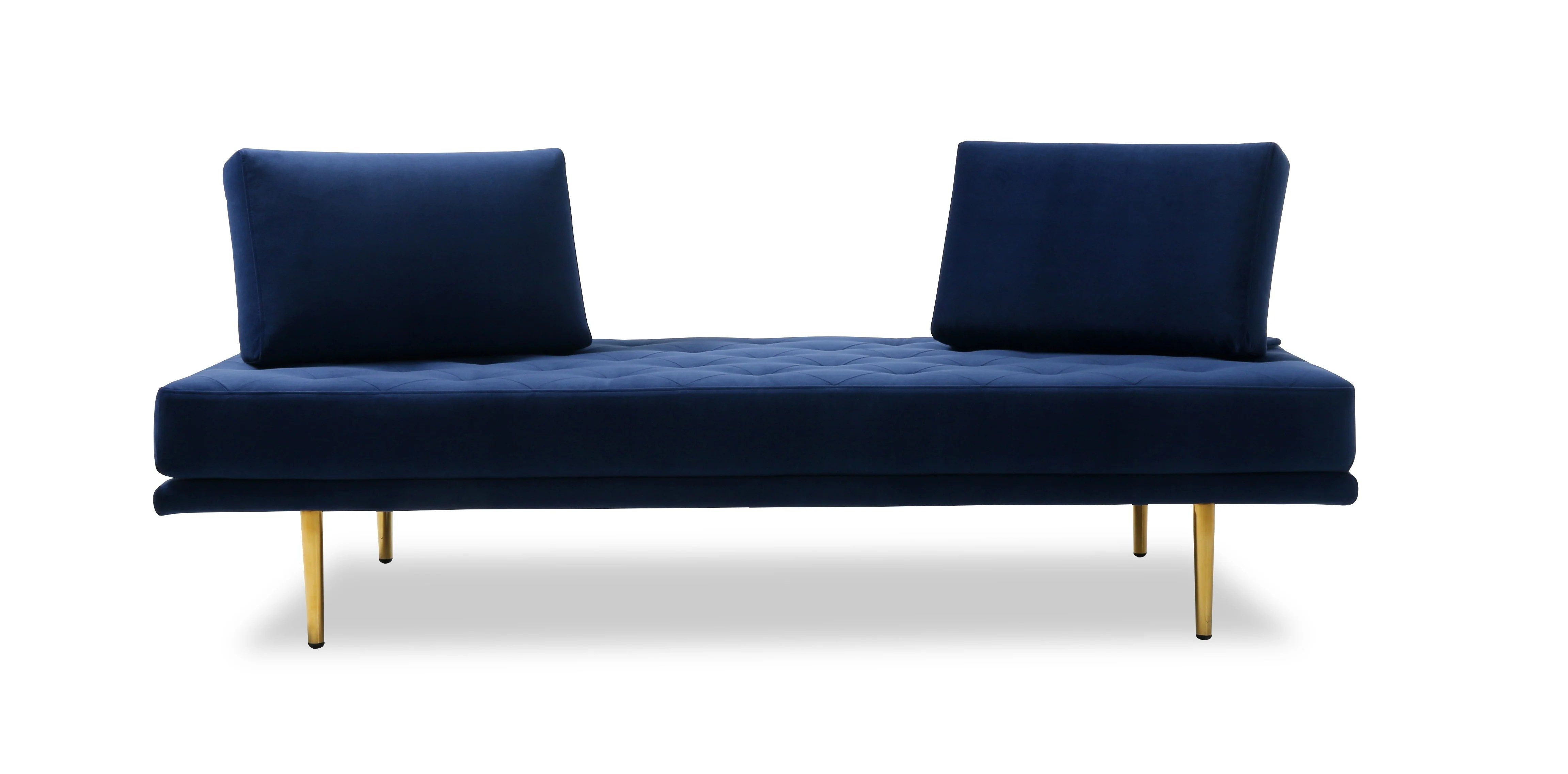 Couch Lila Armless Gold Sofas You'll Love In 2021 | Wayfair